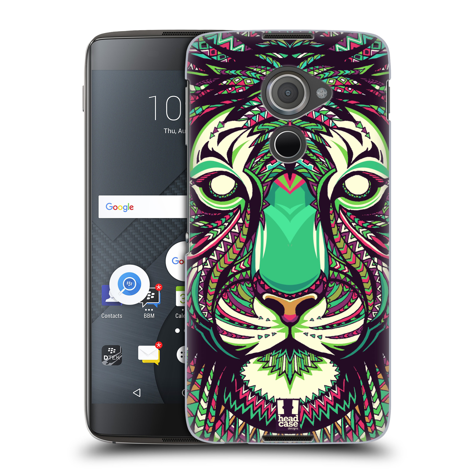 Plastové pouzdro na mobil Blackberry DTEK60 (Argon) - Head Case AZTEC TYGR