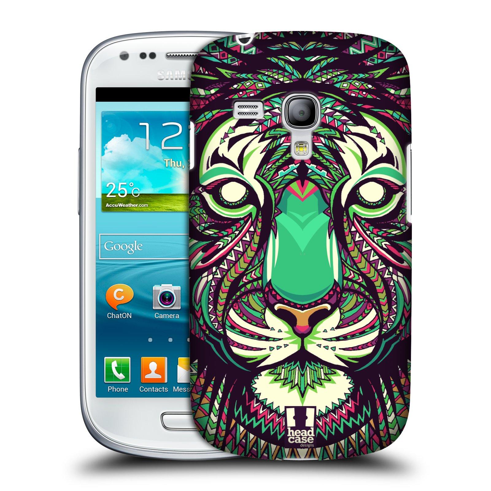 Plastové pouzdro na mobil Samsung Galaxy S III Mini HEAD CASE AZTEC TYGR (Kryt či obal na mobilní telefon Samsung Galaxy S III Mini GT-i8190)
