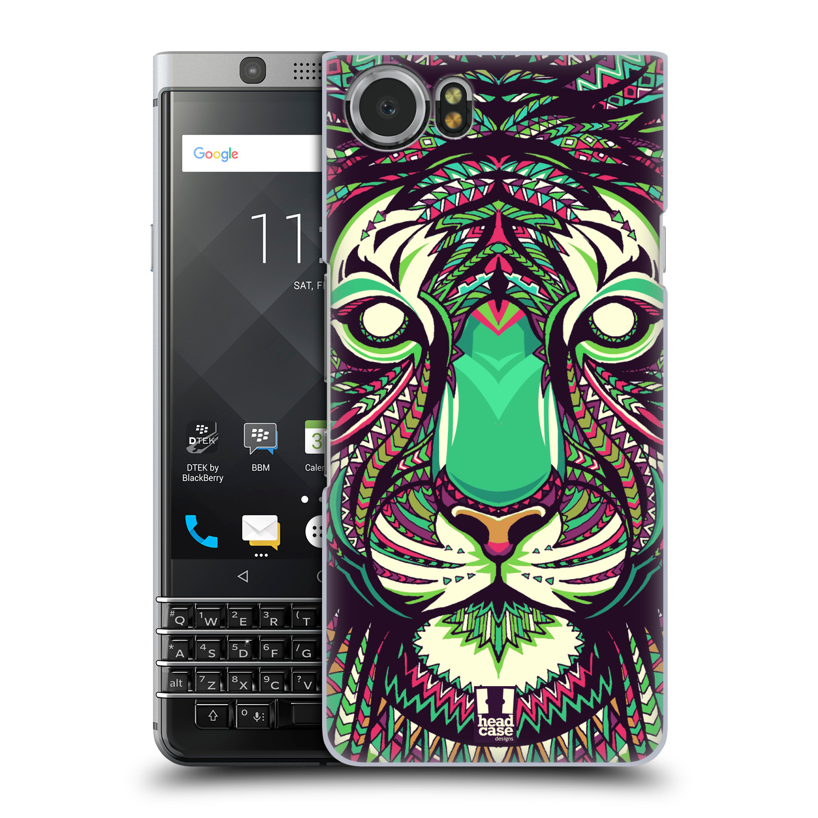 Plastové pouzdro na mobil BlackBerry KEYone - Head Case - AZTEC TYGR