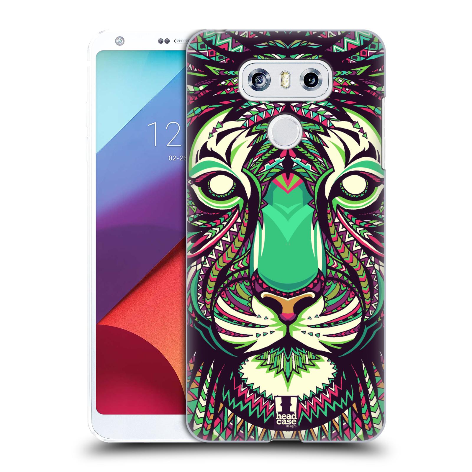 Plastové pouzdro na mobil LG G6 - Head Case AZTEC TYGR