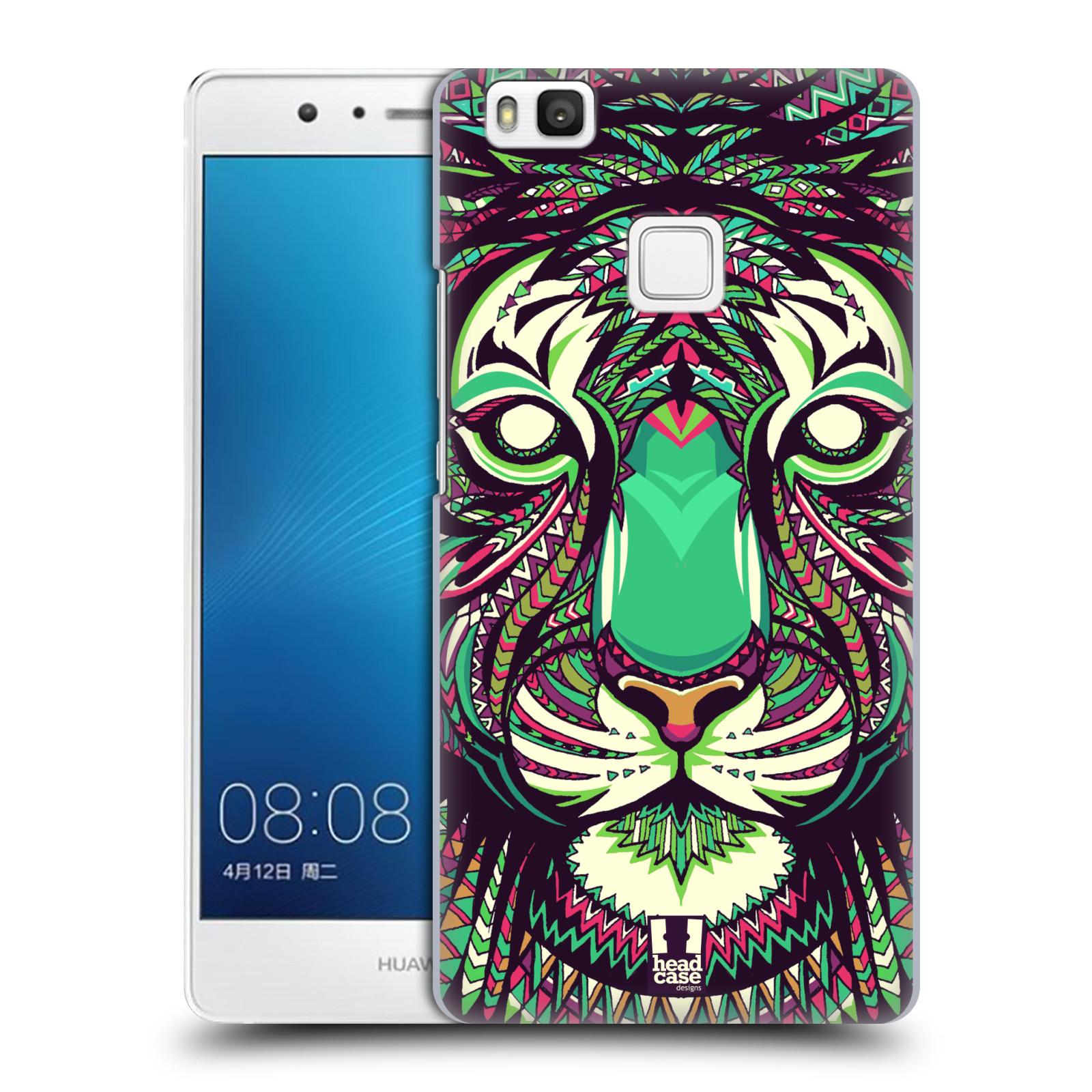 Plastové pouzdro na mobil Huawei P9 Lite HEAD CASE AZTEC TYGR