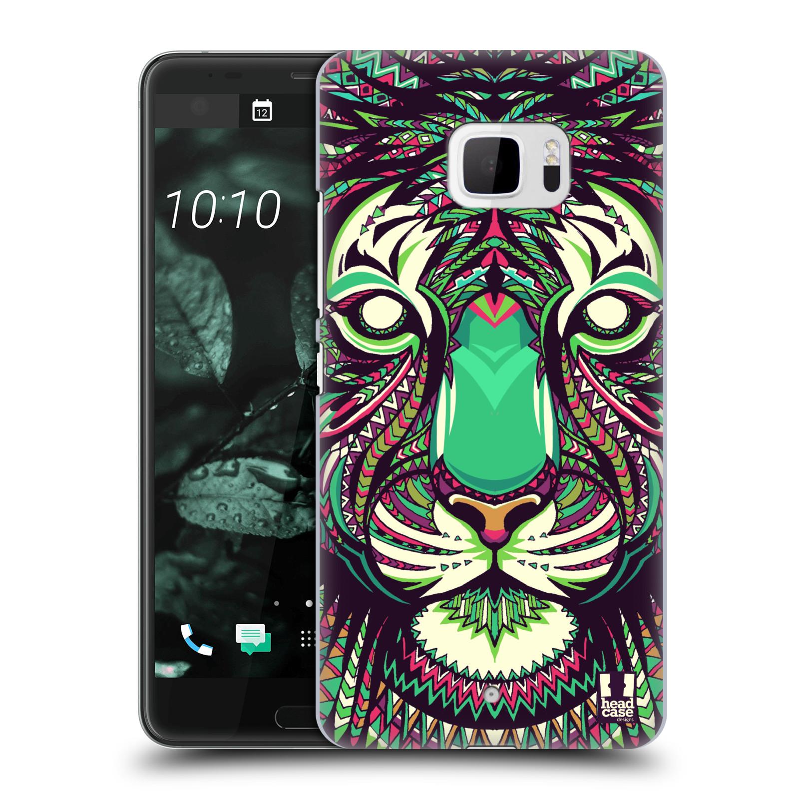 Plastové pouzdro na mobil HTC U Ultra Head Case - AZTEC TYGR (Plastový kryt či obal na mobilní telefon HTC U Ultra (99HALT015-00))