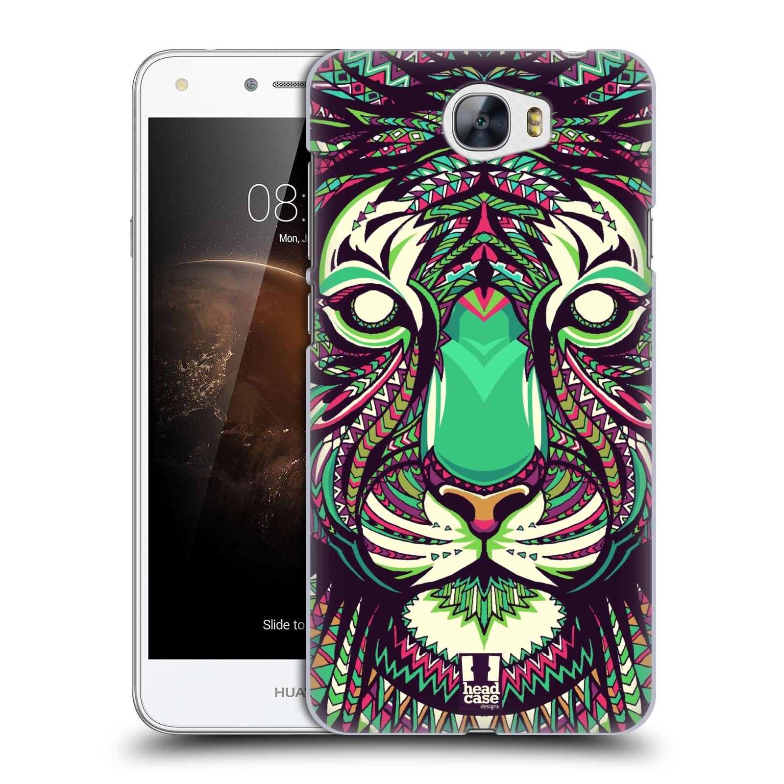 Plastové pouzdro na mobil Huawei Y5 II HEAD CASE AZTEC TYGR