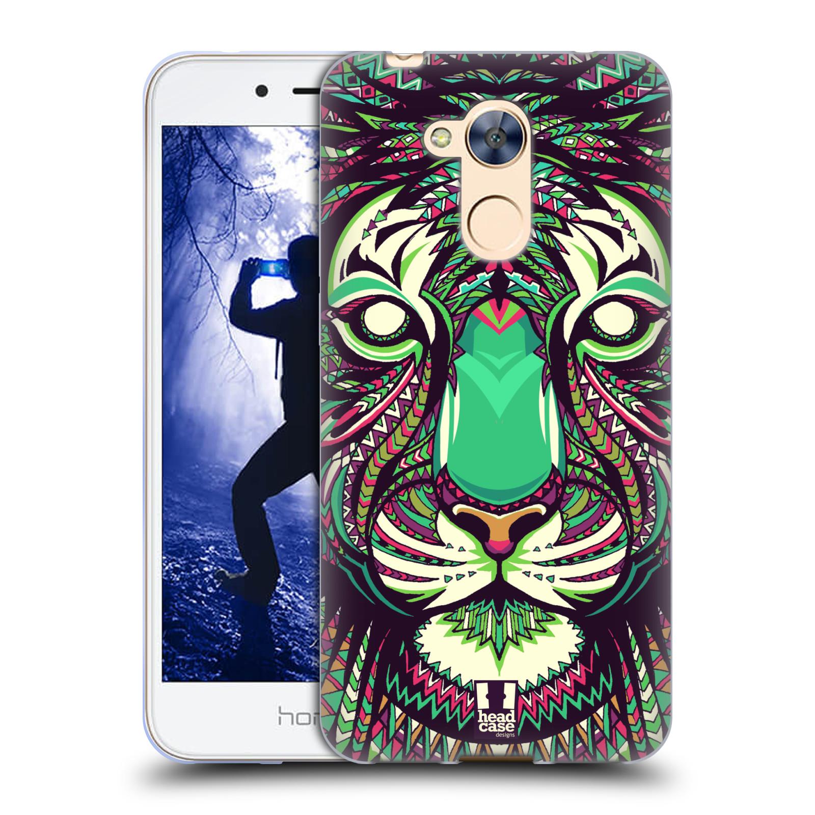 Silikonové pouzdro na mobil Honor 6A - Head Case - AZTEC TYGR