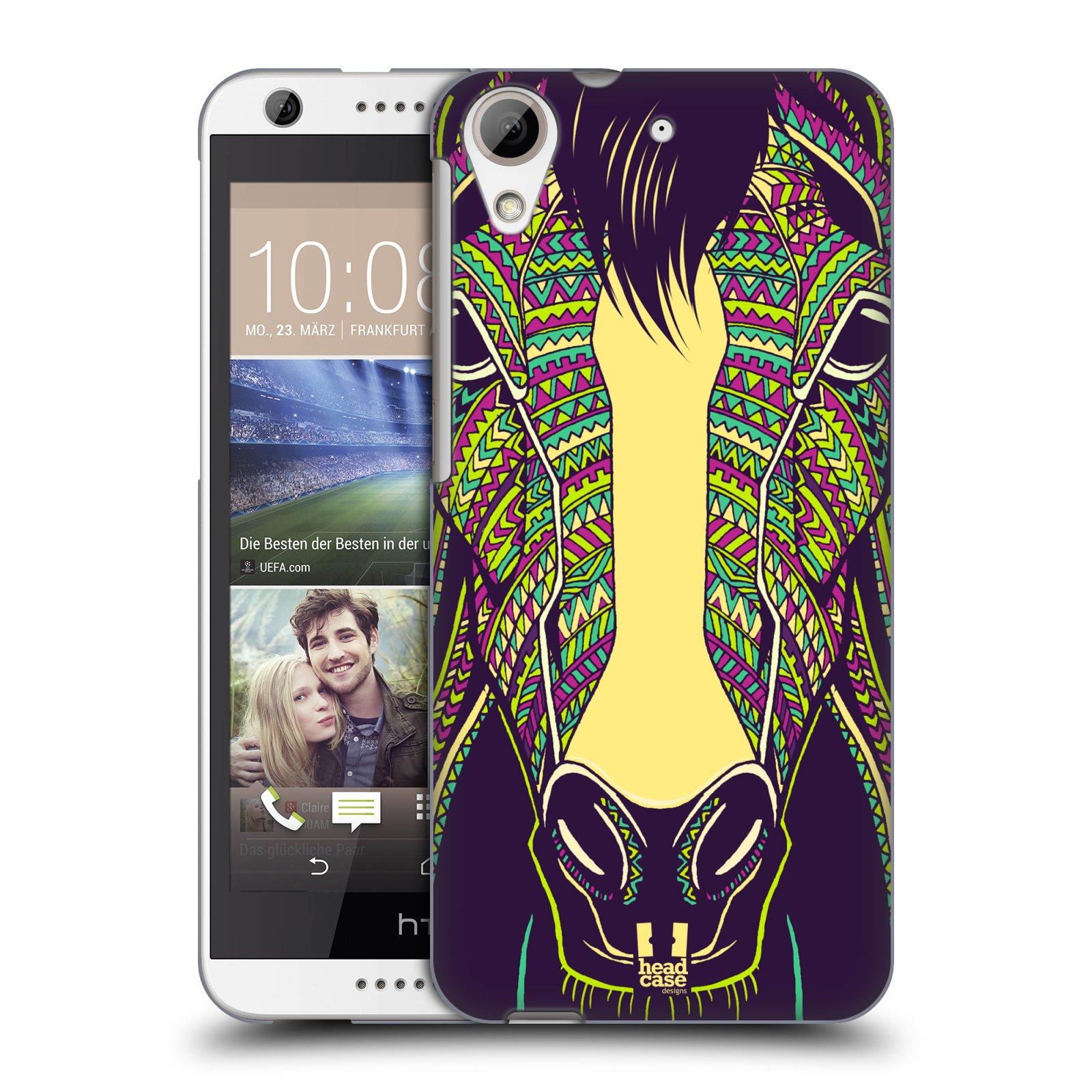 Plastové pouzdro na mobil HTC Desire 626 / 626G HEAD CASE AZTEC KŮŇ (Kryt či obal na mobilní telefon HTC Desire 626G Dual SIM a HTC Desire 626)