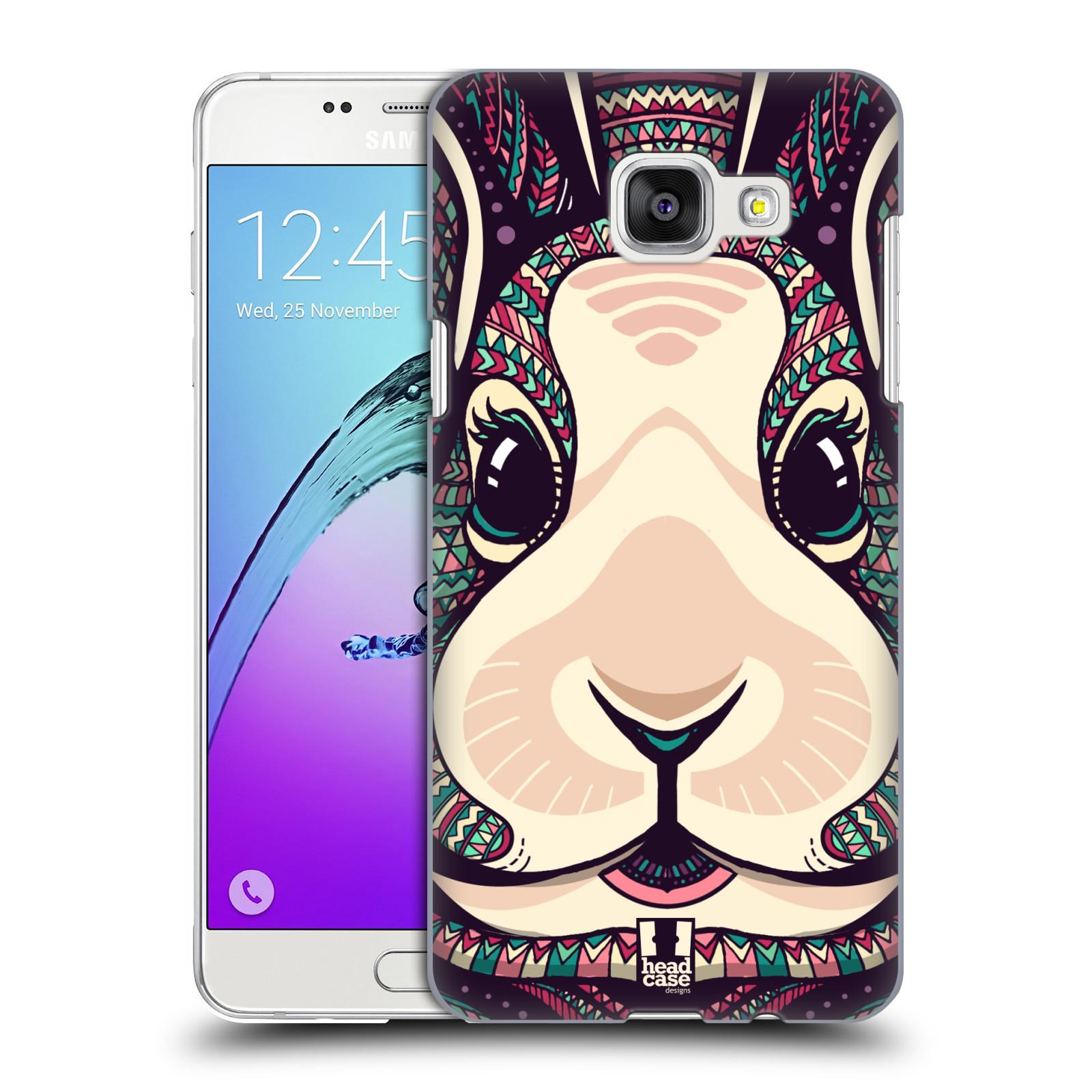 Plastové pouzdro na mobil Samsung Galaxy A5 (2016) HEAD CASE AZTEC ZAJÍČEK