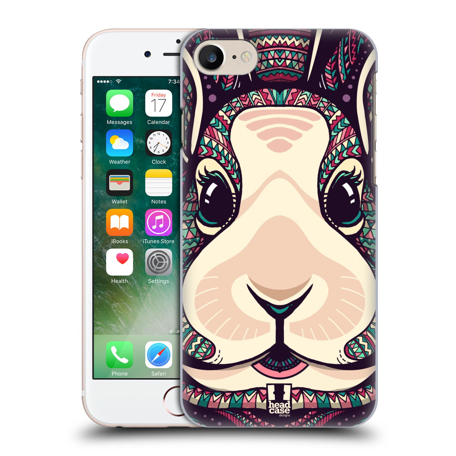 Plastové pouzdro na mobil Apple iPhone 7 HEAD CASE AZTEC ZAJÍČEK