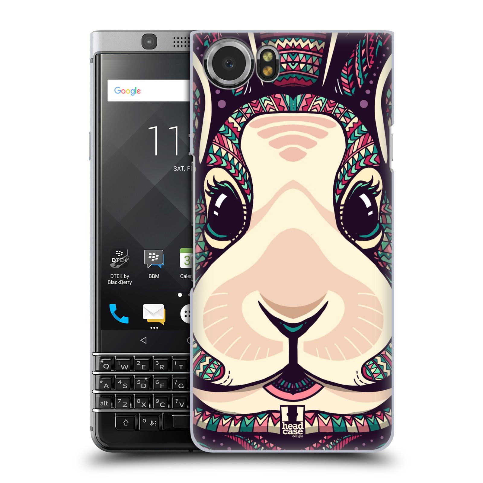 Plastové pouzdro na mobil BlackBerry KEYone - Head Case - AZTEC ZAJÍČEK