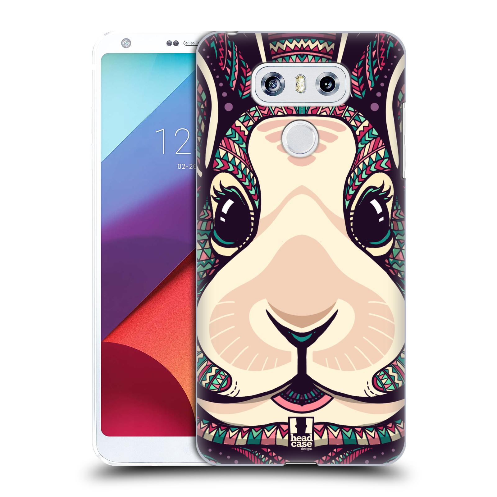 Plastové pouzdro na mobil LG G6 - Head Case AZTEC ZAJÍČEK