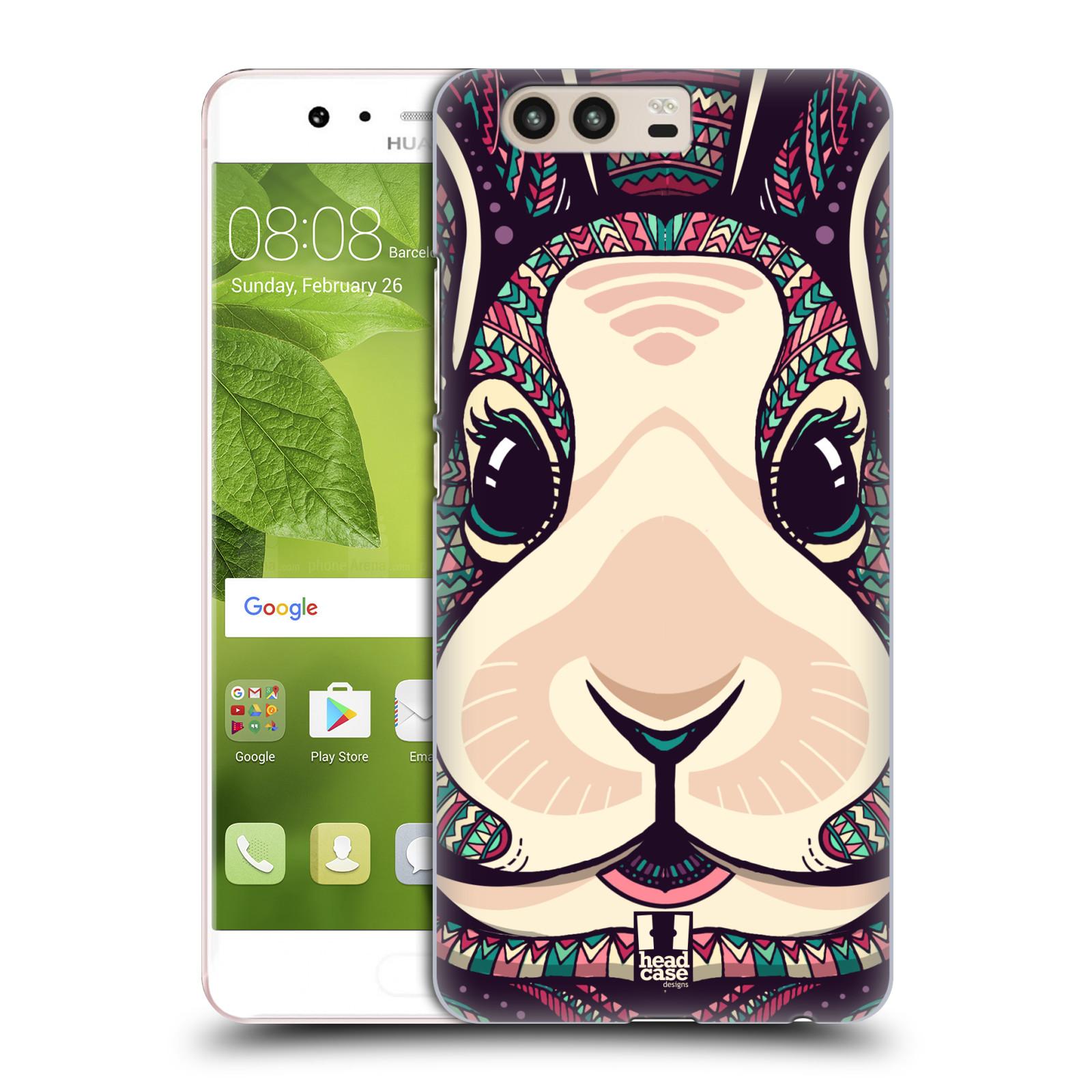 Plastové pouzdro na mobil Huawei P10 - Head Case AZTEC ZAJÍČEK