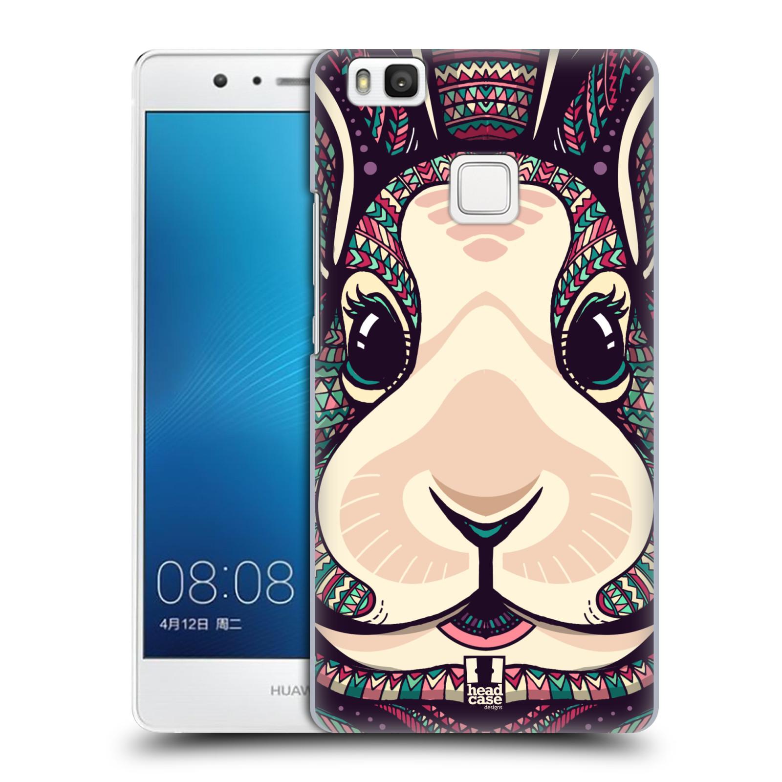 Plastové pouzdro na mobil Huawei P9 Lite HEAD CASE AZTEC ZAJÍČEK
