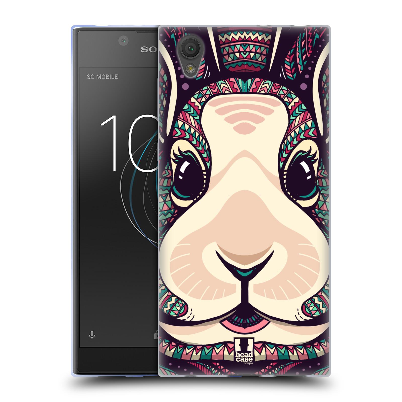 Silikonové pouzdro na mobil Sony Xperia L1 - Head Case - AZTEC ZAJÍČEK
