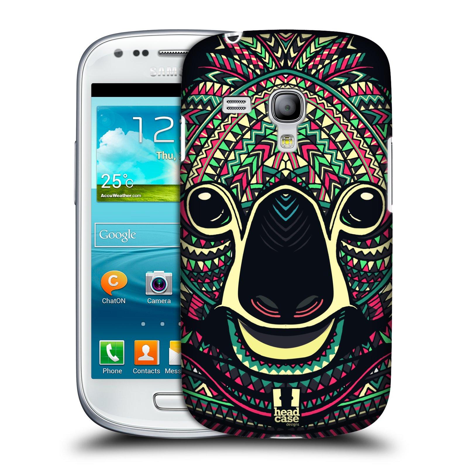 Plastové pouzdro na mobil Samsung Galaxy S III Mini HEAD CASE AZTEC KOALA (Kryt či obal na mobilní telefon Samsung Galaxy S III Mini GT-i8190)
