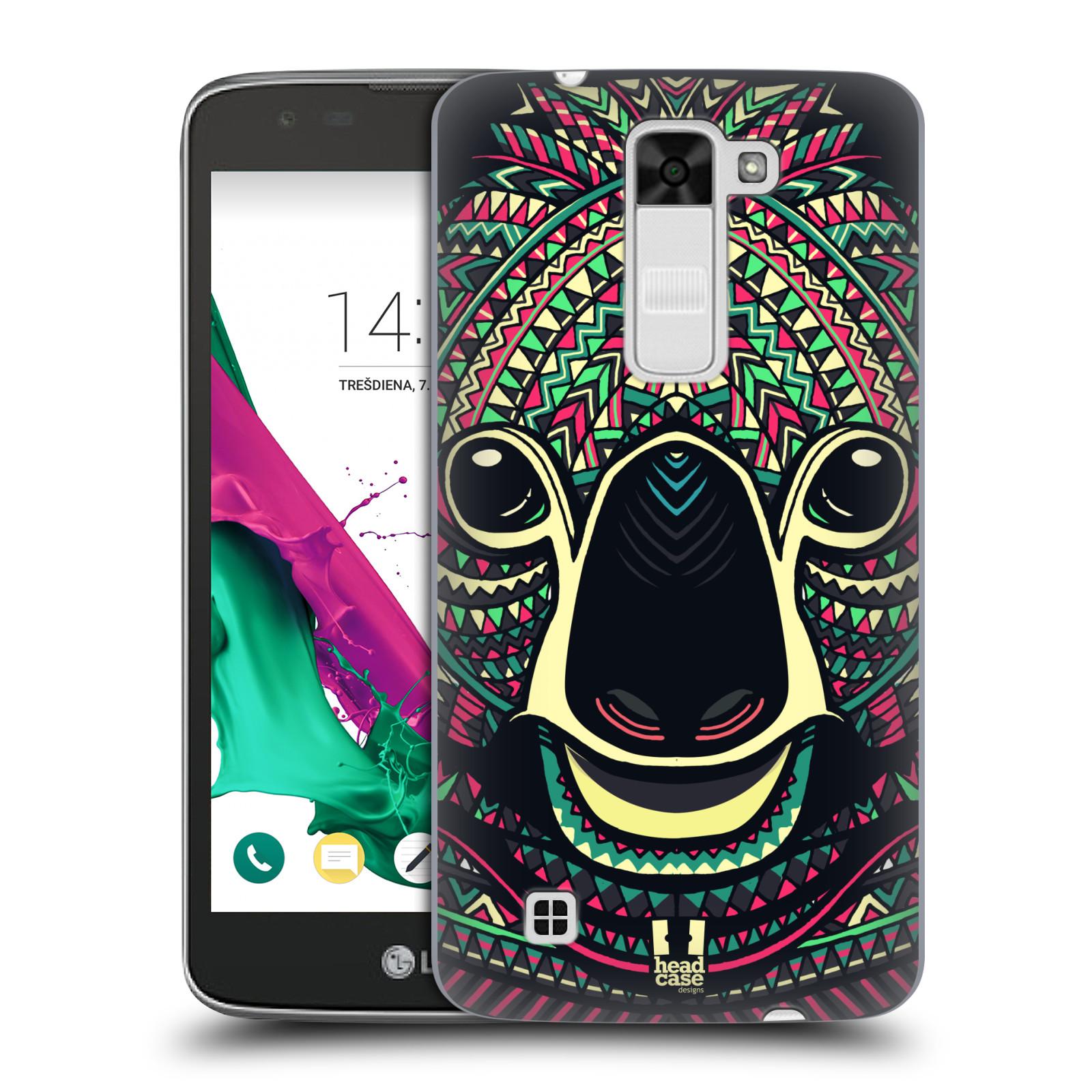 Plastové pouzdro na mobil LG K7 HEAD CASE AZTEC KOALA