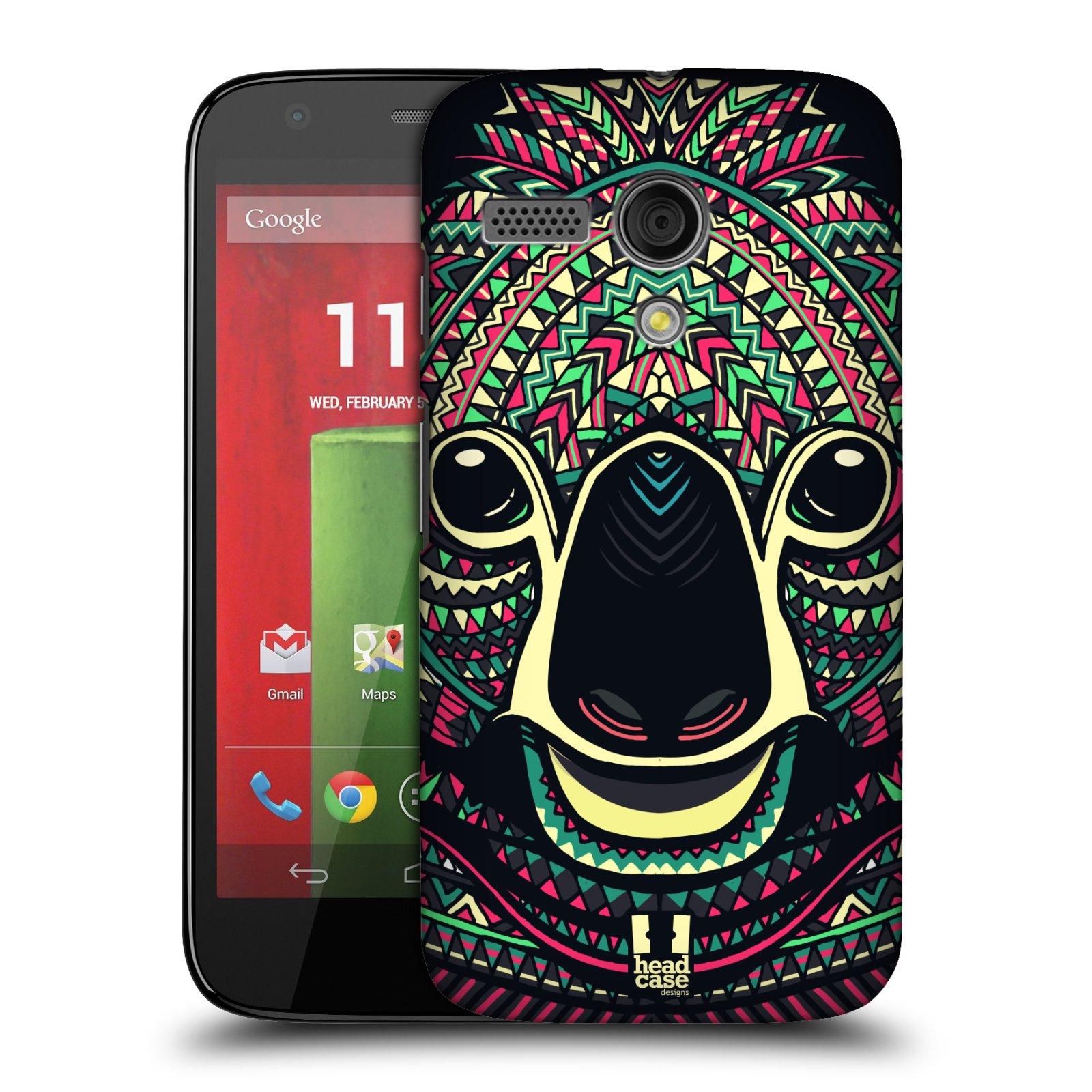 Plastové pouzdro na mobil Motorola Moto G HEAD CASE AZTEC KOALA (Kryt či obal na mobilní telefon Motorola Moto G)