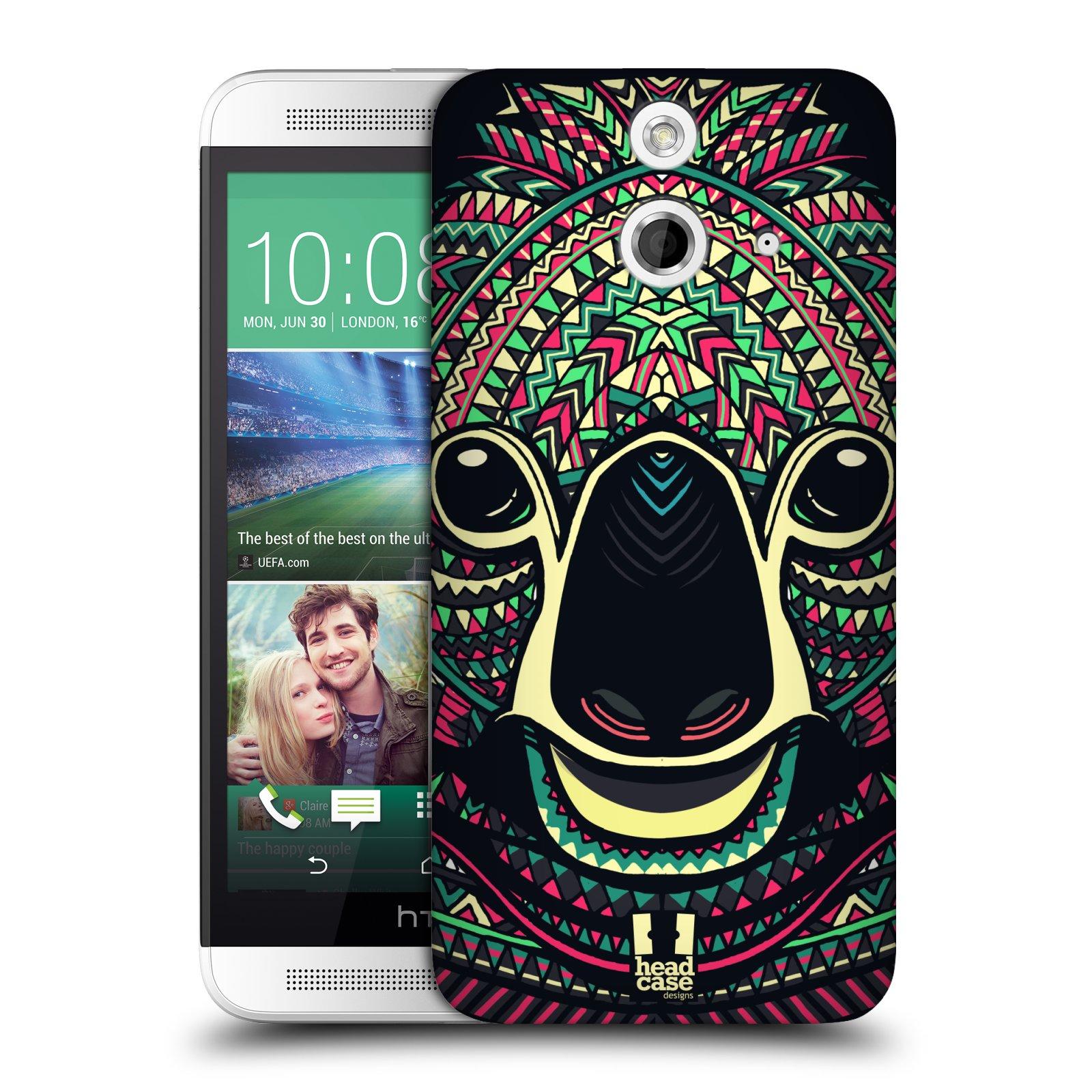 Plastové pouzdro na mobil HTC ONE E8 HEAD CASE AZTEC KOALA (Kryt či obal na mobilní telefon HTC ONE E8)