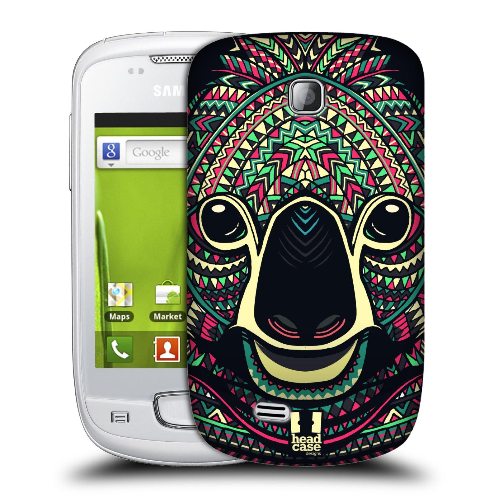 Plastové pouzdro na mobil Samsung Galaxy Mini HEAD CASE AZTEC KOALA (Kryt či obal na mobilní telefon Samsung Galaxy Mini GT-S5570 / GT-S5570i)