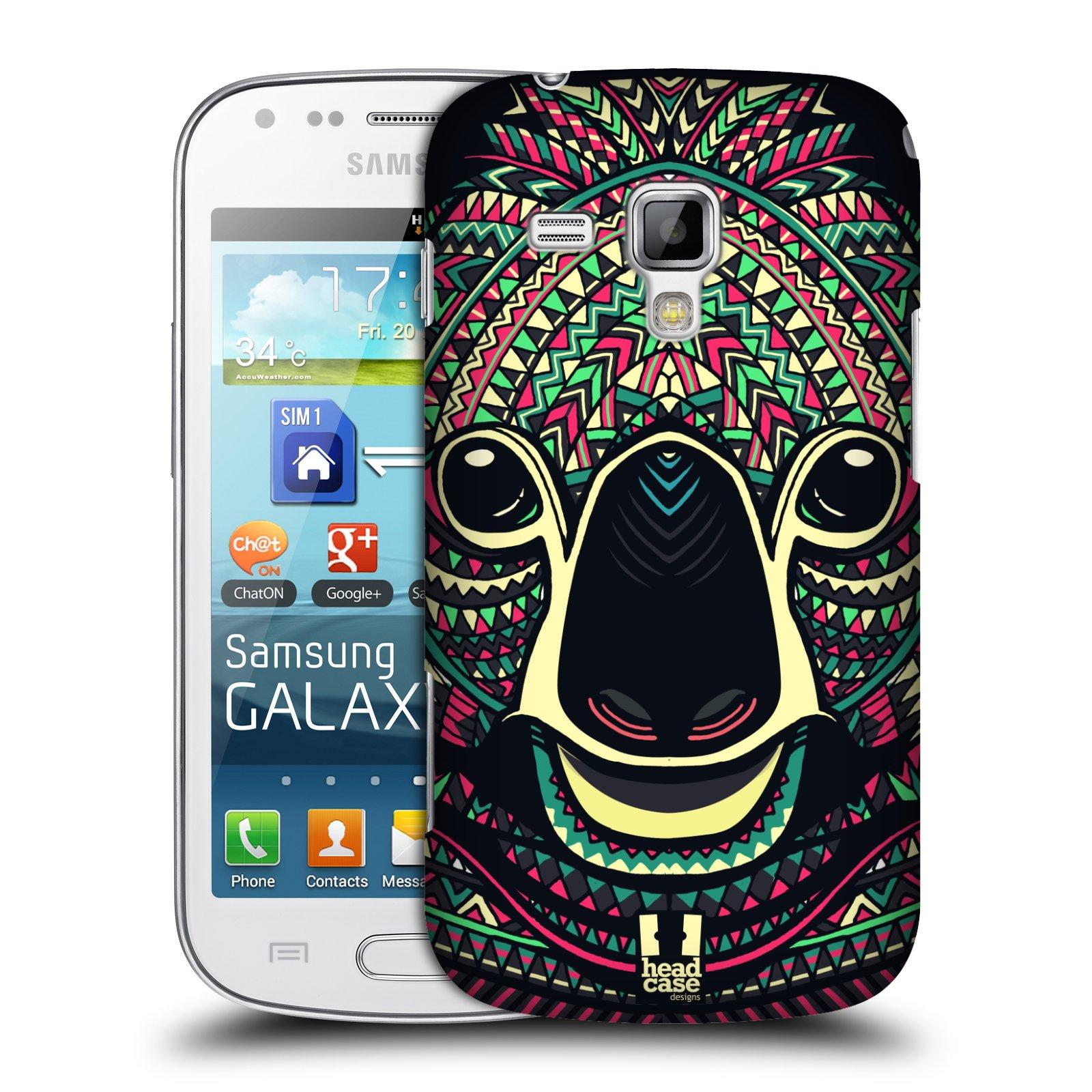 Plastové pouzdro na mobil Samsung Galaxy S Duos 2 HEAD CASE AZTEC KOALA (Kryt či obal na mobilní telefon Samsung Galaxy S Duos 2 GT-S7582)