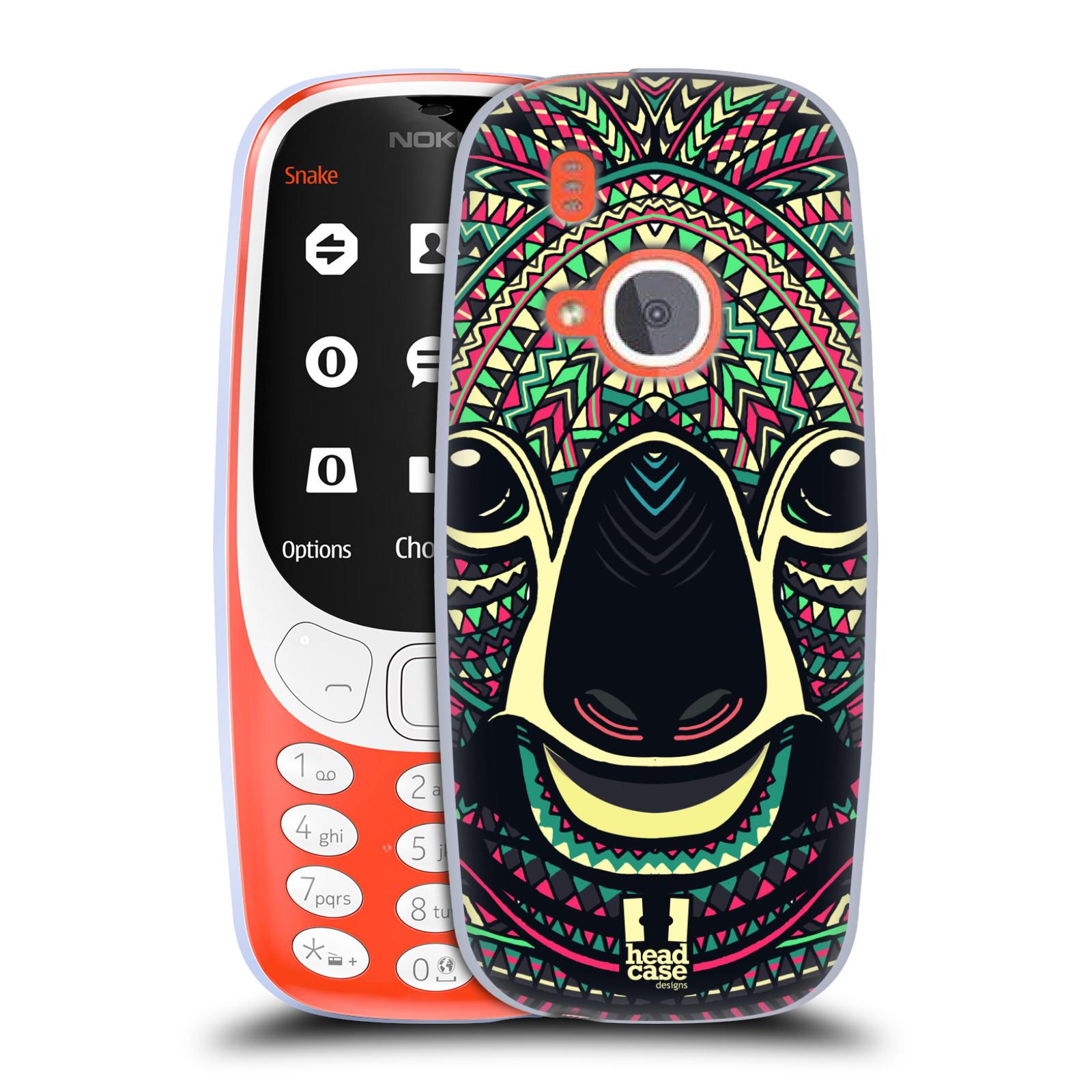 Silikonové pouzdro na mobil Nokia 3310 - Head Case - AZTEC KOALA (Silikonový kryt či obal na mobilní telefon Nokia 3310 (2017) s motivem AZTEC KOALA)