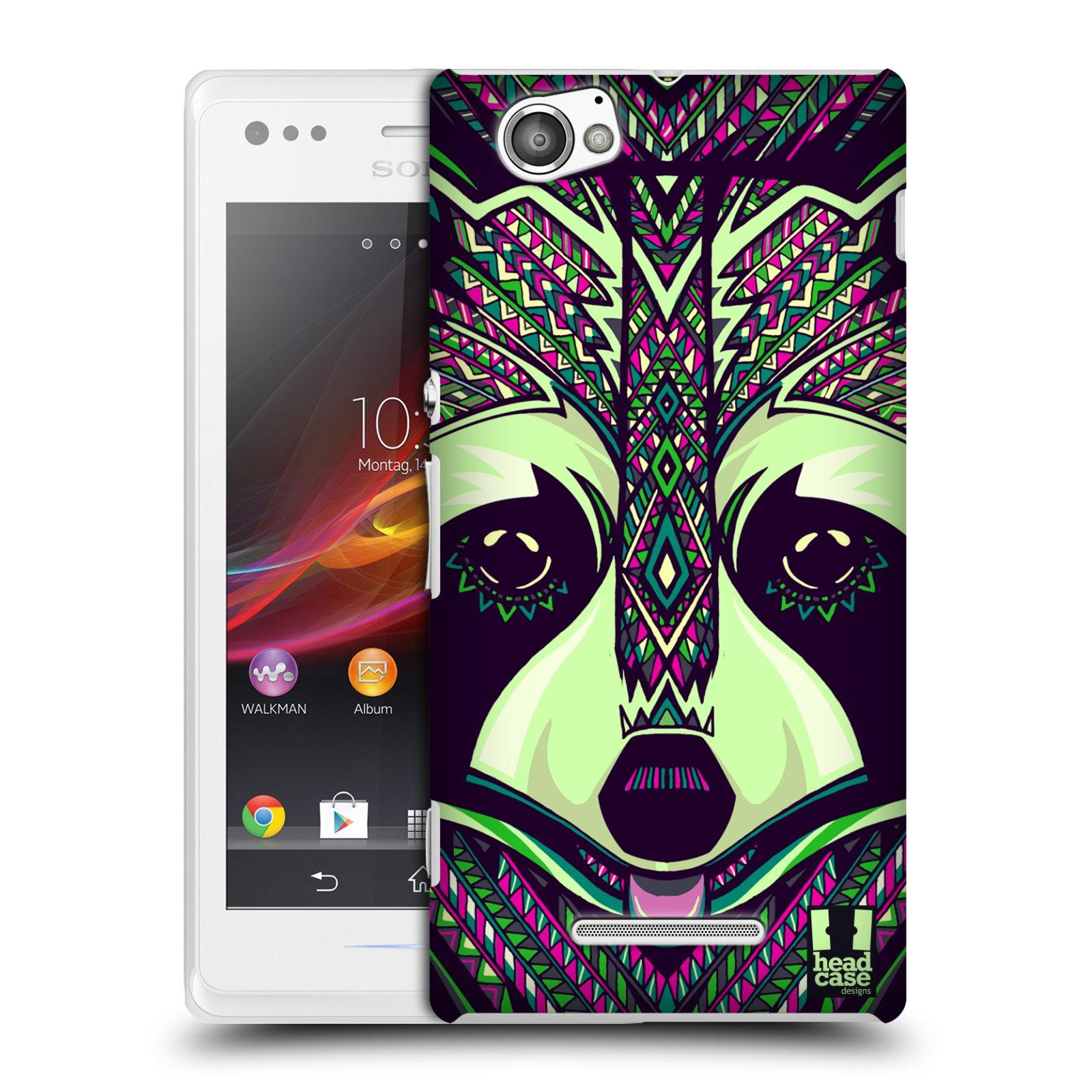 Plastové pouzdro na mobil Sony Xperia M C1905 HEAD CASE AZTEC MÝVAL