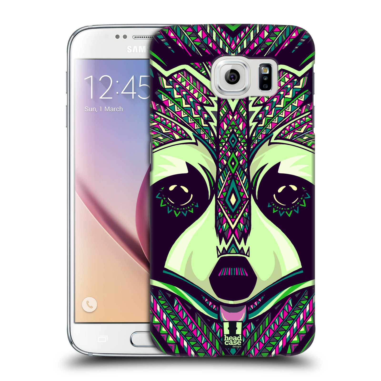 Plastové pouzdro na mobil Samsung Galaxy S6 HEAD CASE AZTEC MÝVAL