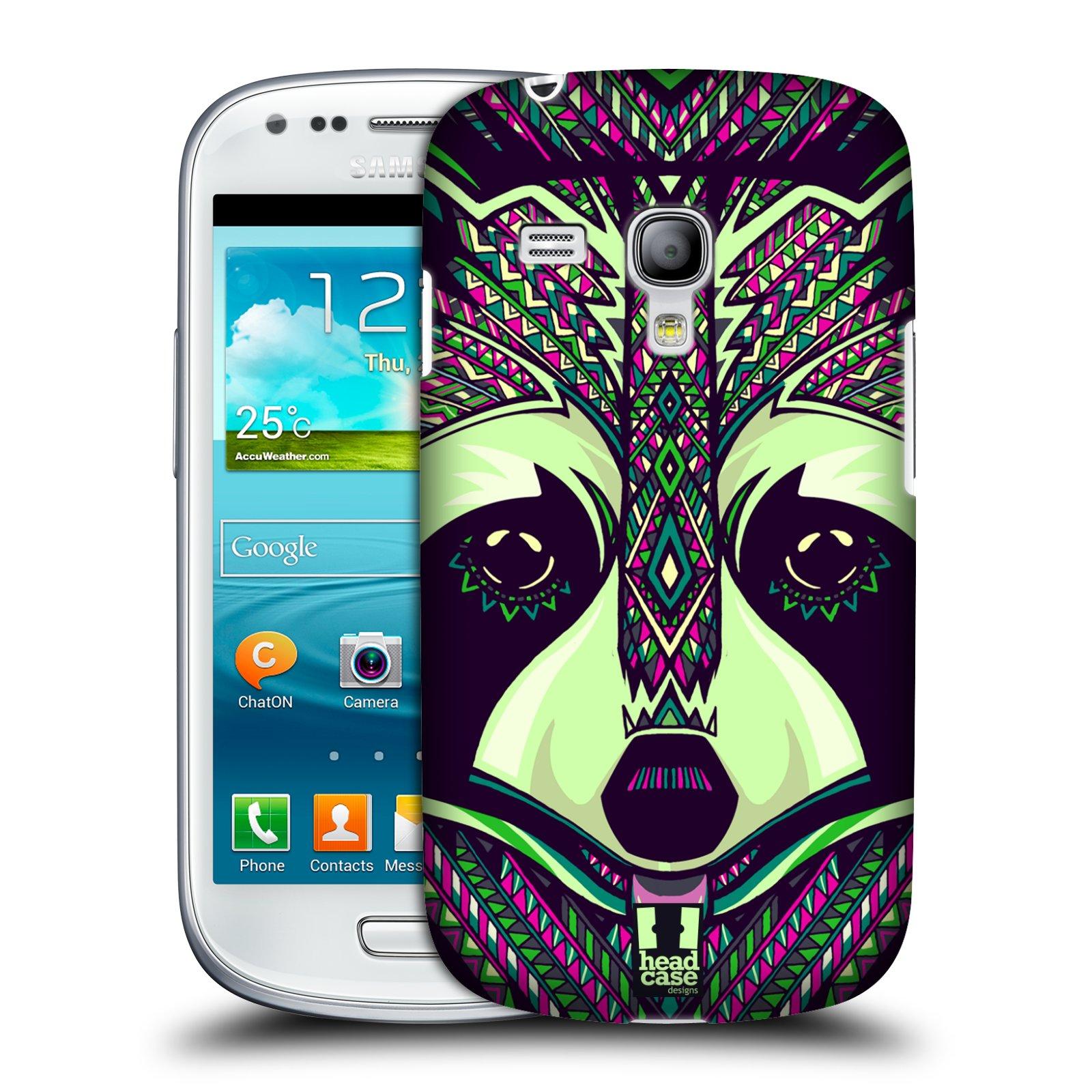 Plastové pouzdro na mobil Samsung Galaxy S III Mini HEAD CASE AZTEC MÝVAL (Kryt či obal na mobilní telefon Samsung Galaxy S III Mini GT-i8190)