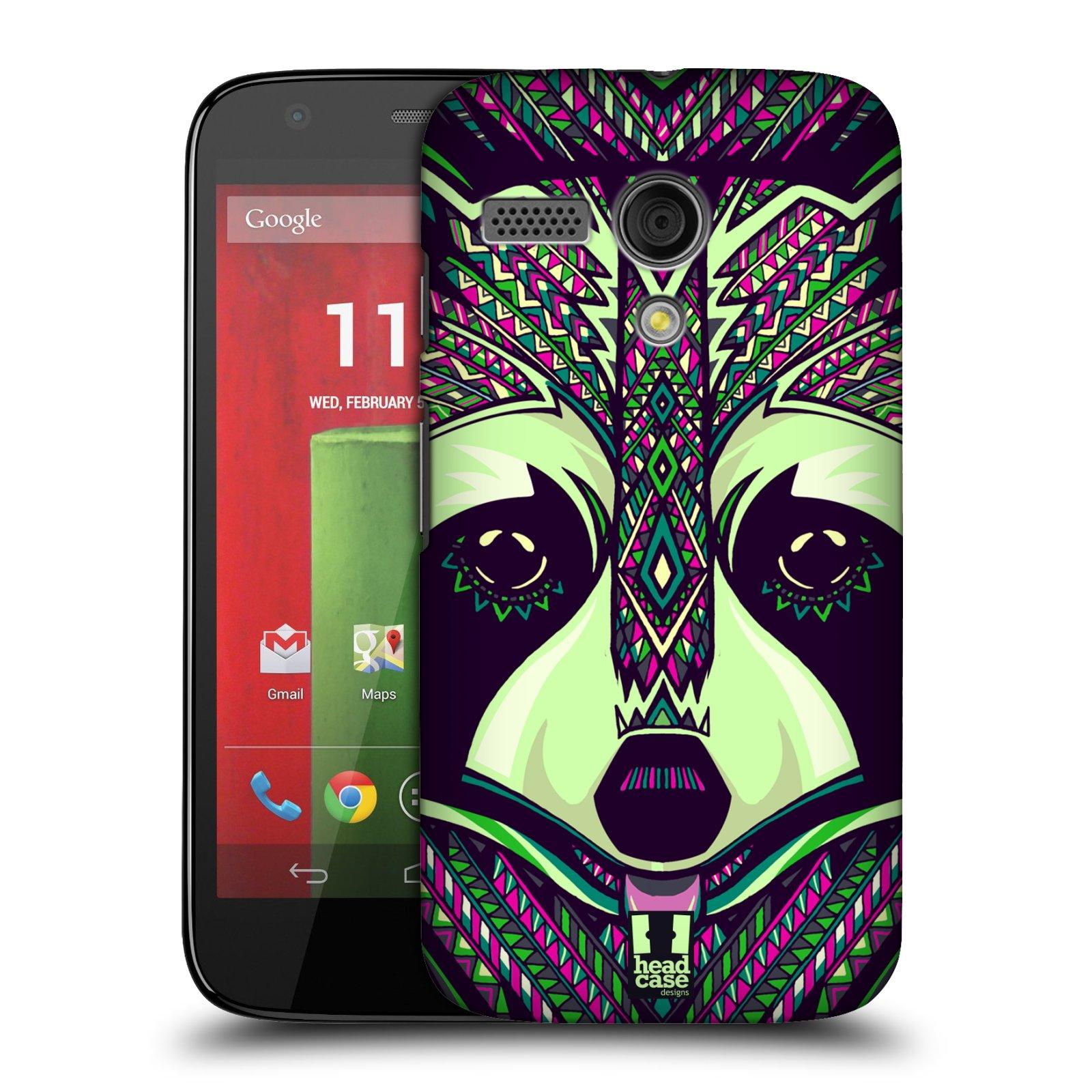 Plastové pouzdro na mobil Motorola Moto G HEAD CASE AZTEC MÝVAL (Kryt či obal na mobilní telefon Motorola Moto G)