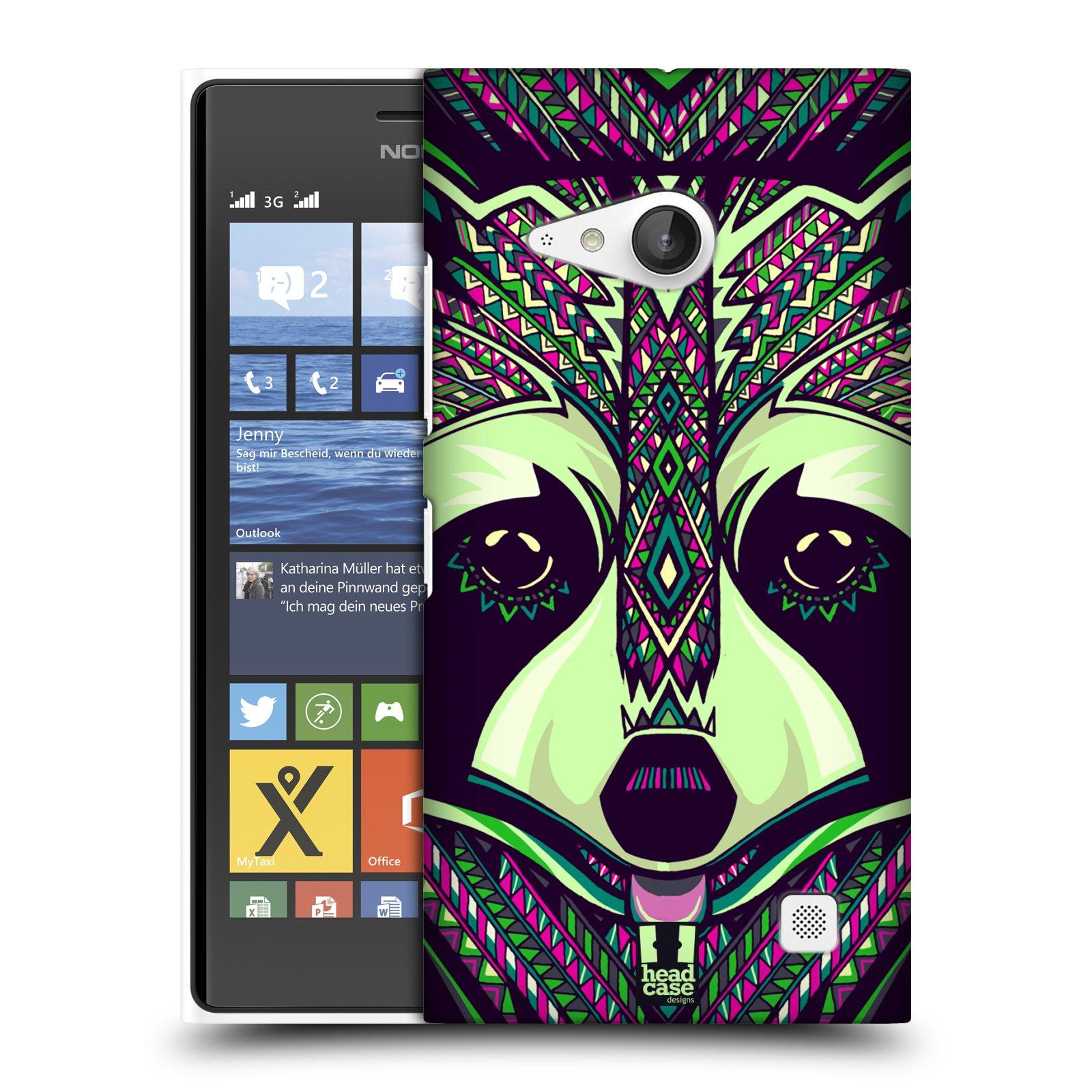 Plastové pouzdro na mobil Nokia Lumia 735 HEAD CASE AZTEC MÝVAL