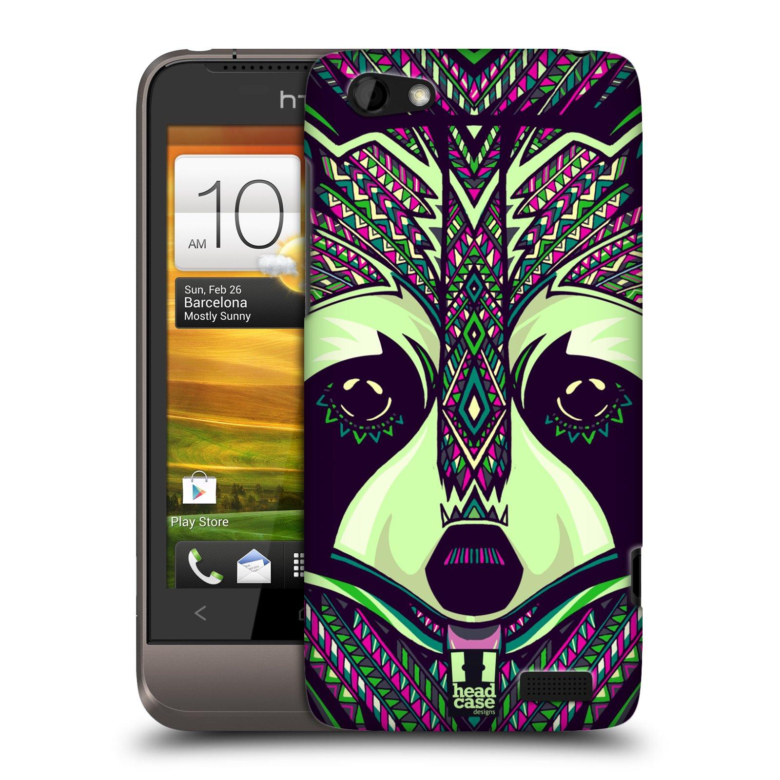 Plastové pouzdro na mobil HTC ONE V HEAD CASE AZTEC MÝVAL (Kryt či obal na mobilní telefon HTC ONE V)