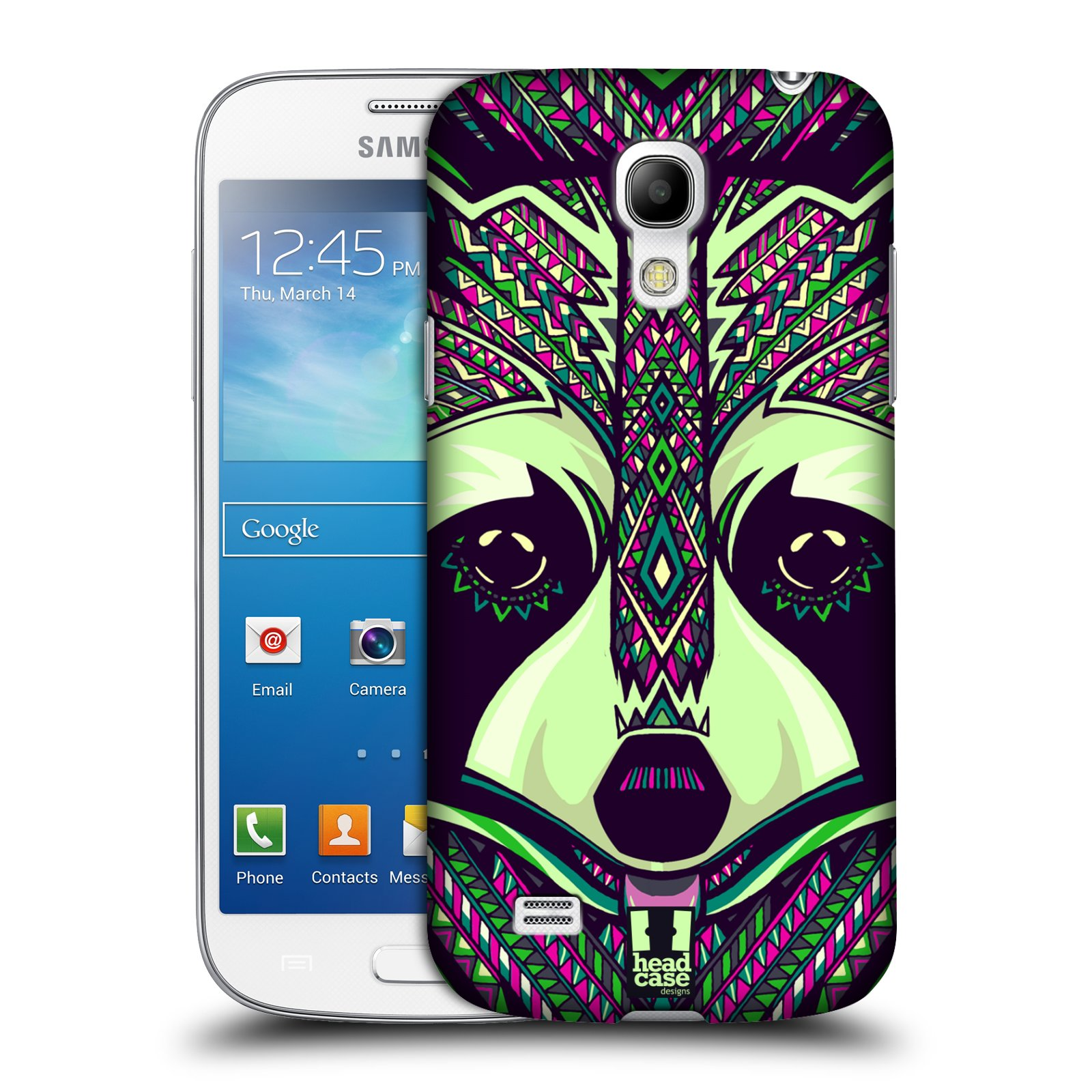 Plastové pouzdro na mobil Samsung Galaxy S4 Mini HEAD CASE AZTEC MÝVAL