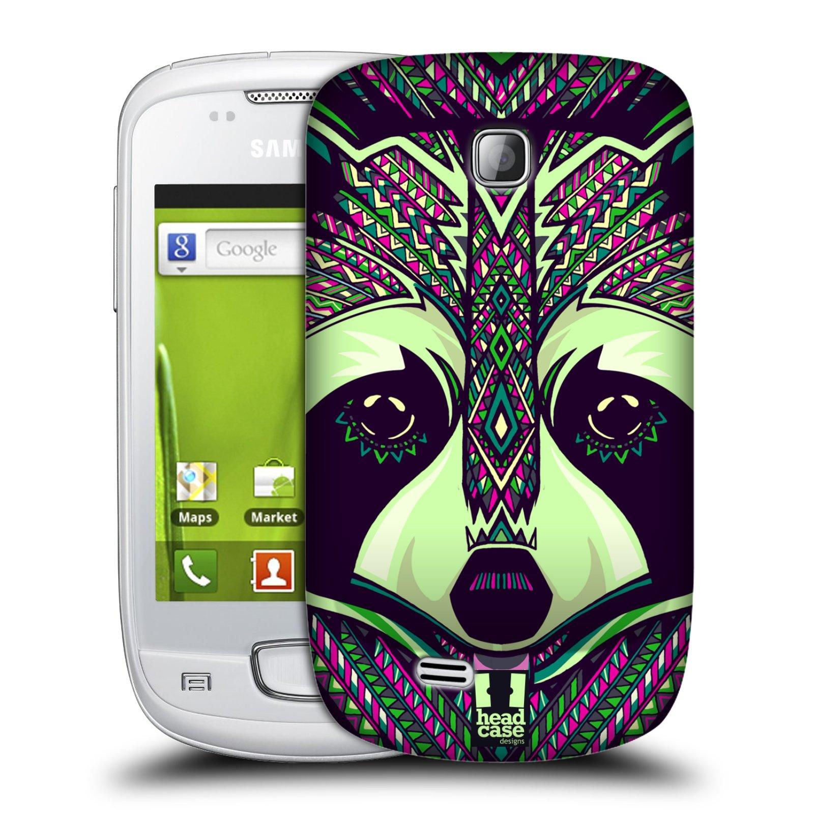 Plastové pouzdro na mobil Samsung Galaxy Mini HEAD CASE AZTEC MÝVAL (Kryt či obal na mobilní telefon Samsung Galaxy Mini GT-S5570 / GT-S5570i)