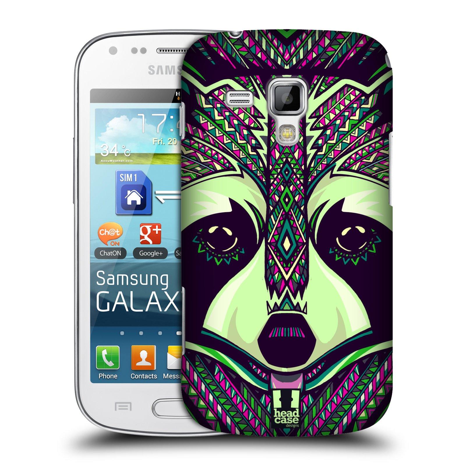 Plastové pouzdro na mobil Samsung Galaxy S Duos 2 HEAD CASE AZTEC MÝVAL (Kryt či obal na mobilní telefon Samsung Galaxy S Duos 2 GT-S7582)