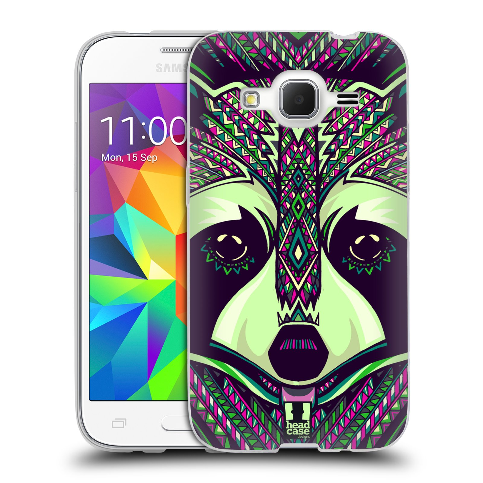 Silikonové pouzdro na mobil Samsung Galaxy Core Prime LTE HEAD CASE AZTEC MÝVAL (Silikonový kryt či obal na mobilní telefon Samsung Galaxy Core Prime LTE SM-G360)