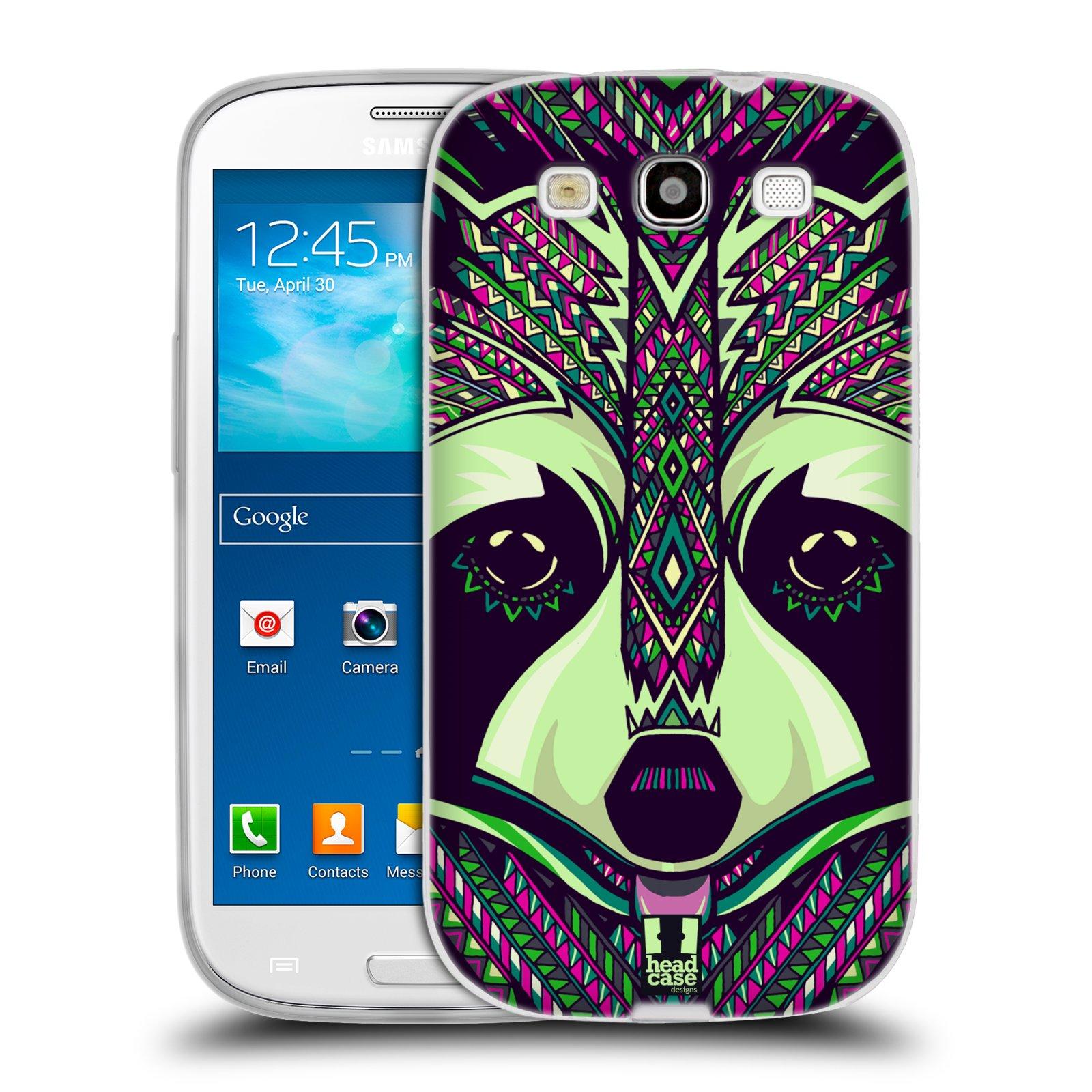 Silikonové pouzdro na mobil Samsung Galaxy S3 Neo HEAD CASE AZTEC MÝVAL (Silikonový kryt či obal na mobilní telefon Samsung Galaxy S3 Neo GT-i9301i)