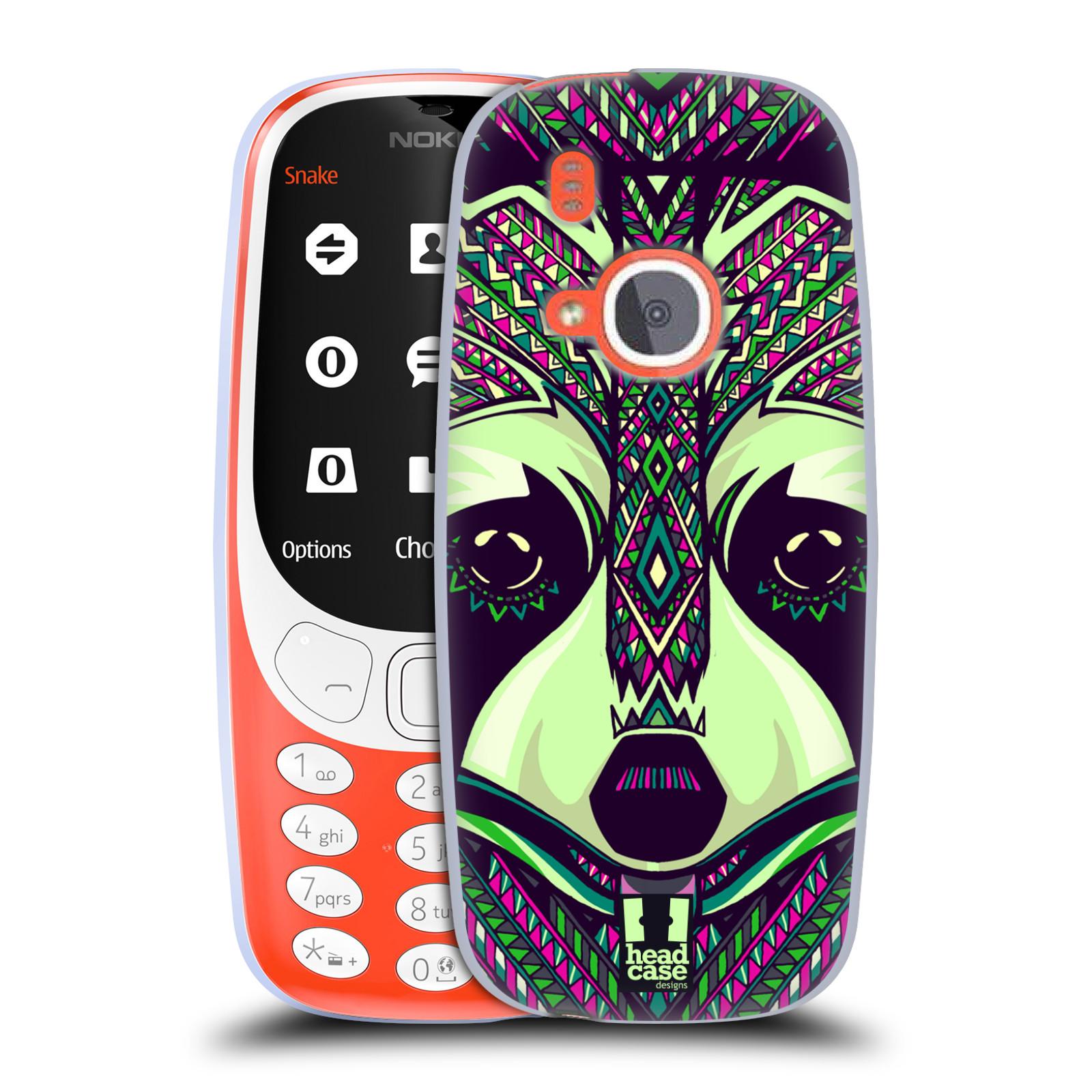 Silikonové pouzdro na mobil Nokia 3310 - Head Case - AZTEC MÝVAL (Silikonový kryt či obal na mobilní telefon Nokia 3310 (2017) s motivem AZTEC MÝVAL)