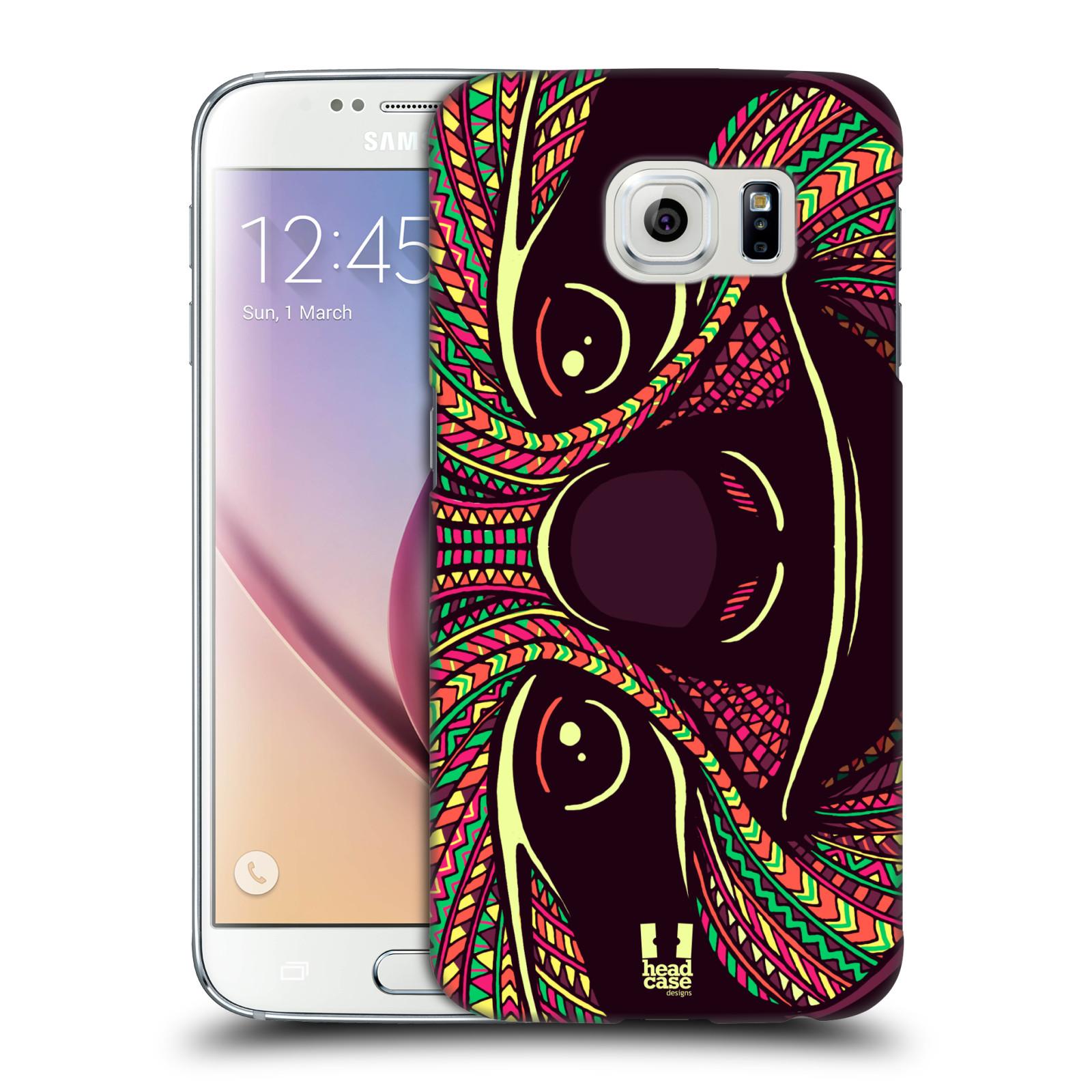 Plastové pouzdro na mobil Samsung Galaxy S6 HEAD CASE AZTEC LENOCHOD