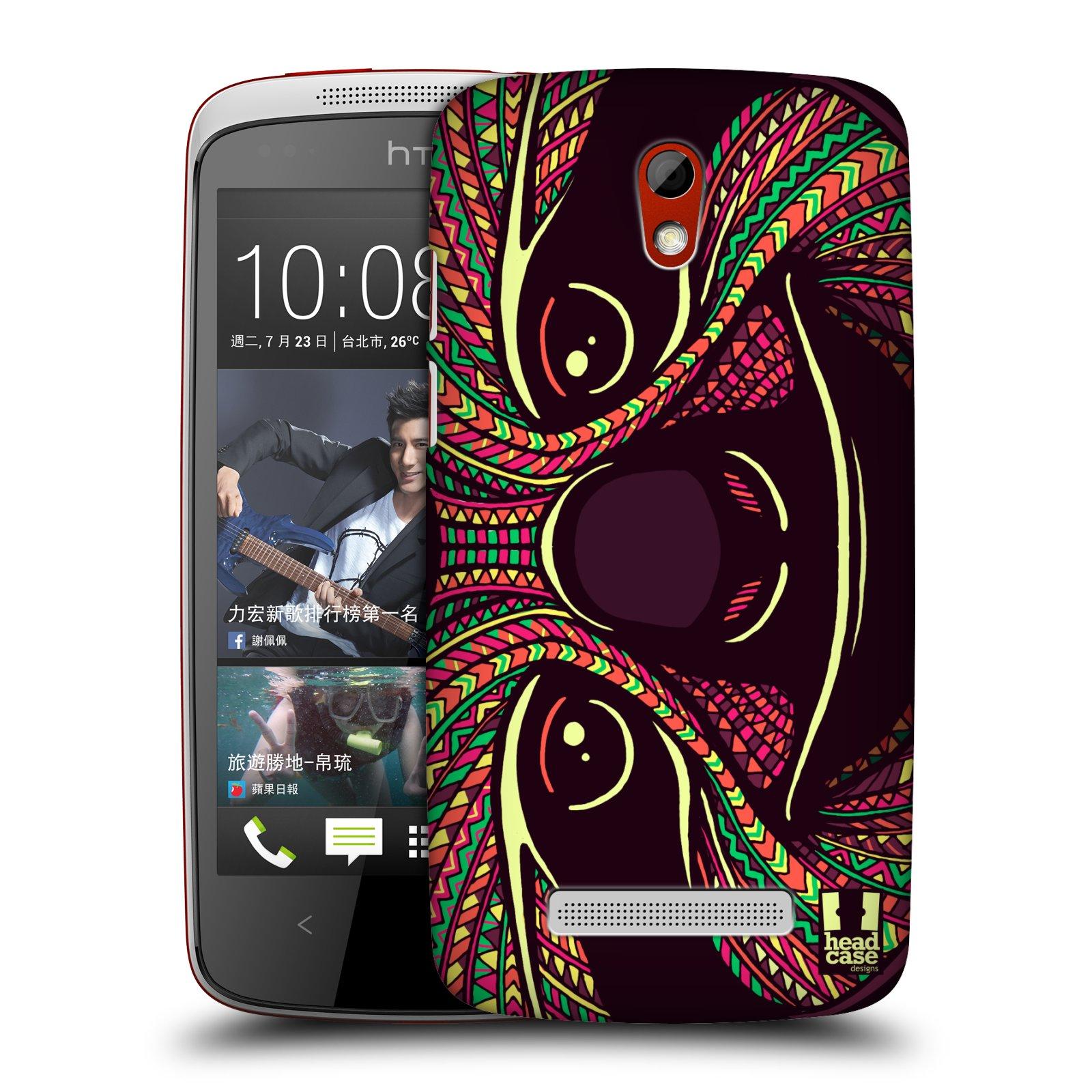 Plastové pouzdro na mobil HTC Desire 500 HEAD CASE AZTEC LENOCHOD (Kryt či obal na mobilní telefon HTC Desire 500)