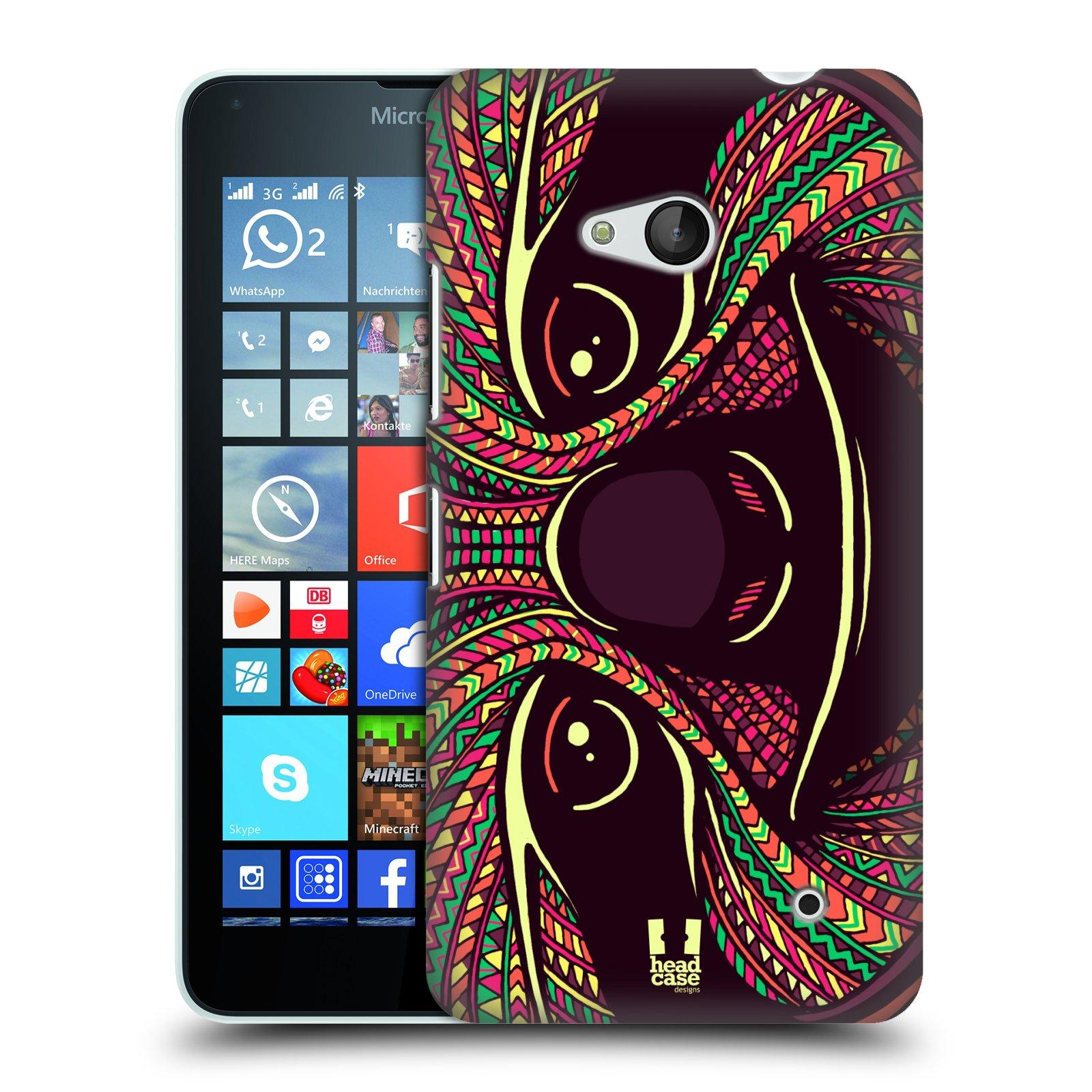 Plastové pouzdro na mobil Microsoft Lumia 640 HEAD CASE AZTEC LENOCHOD