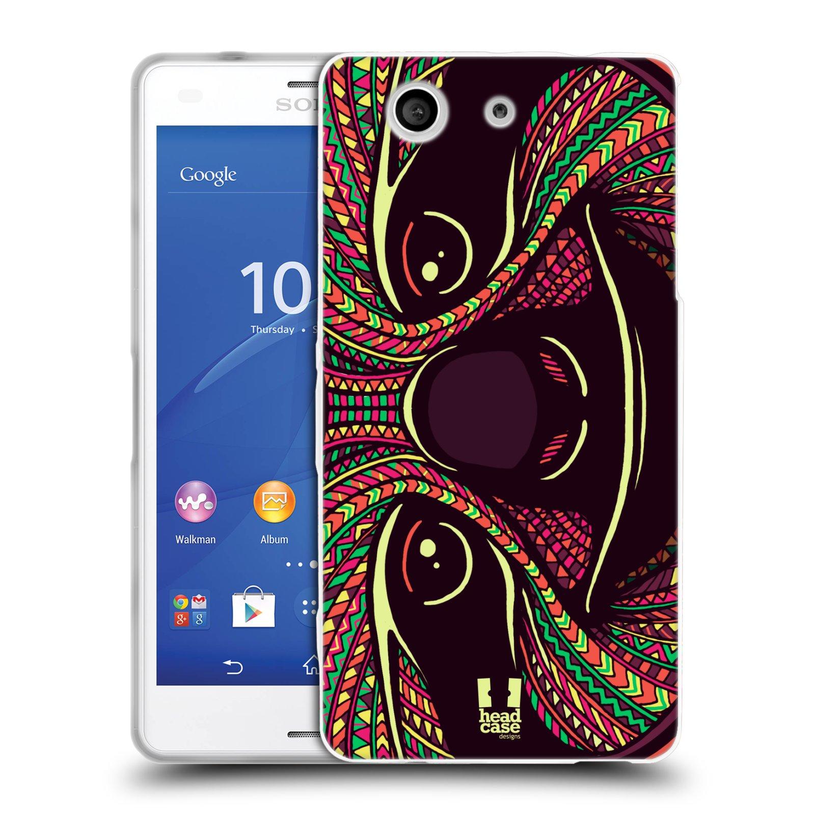 Silikonové pouzdro na mobil Sony Xperia Z3 Compact D5803 HEAD CASE AZTEC LENOCHOD