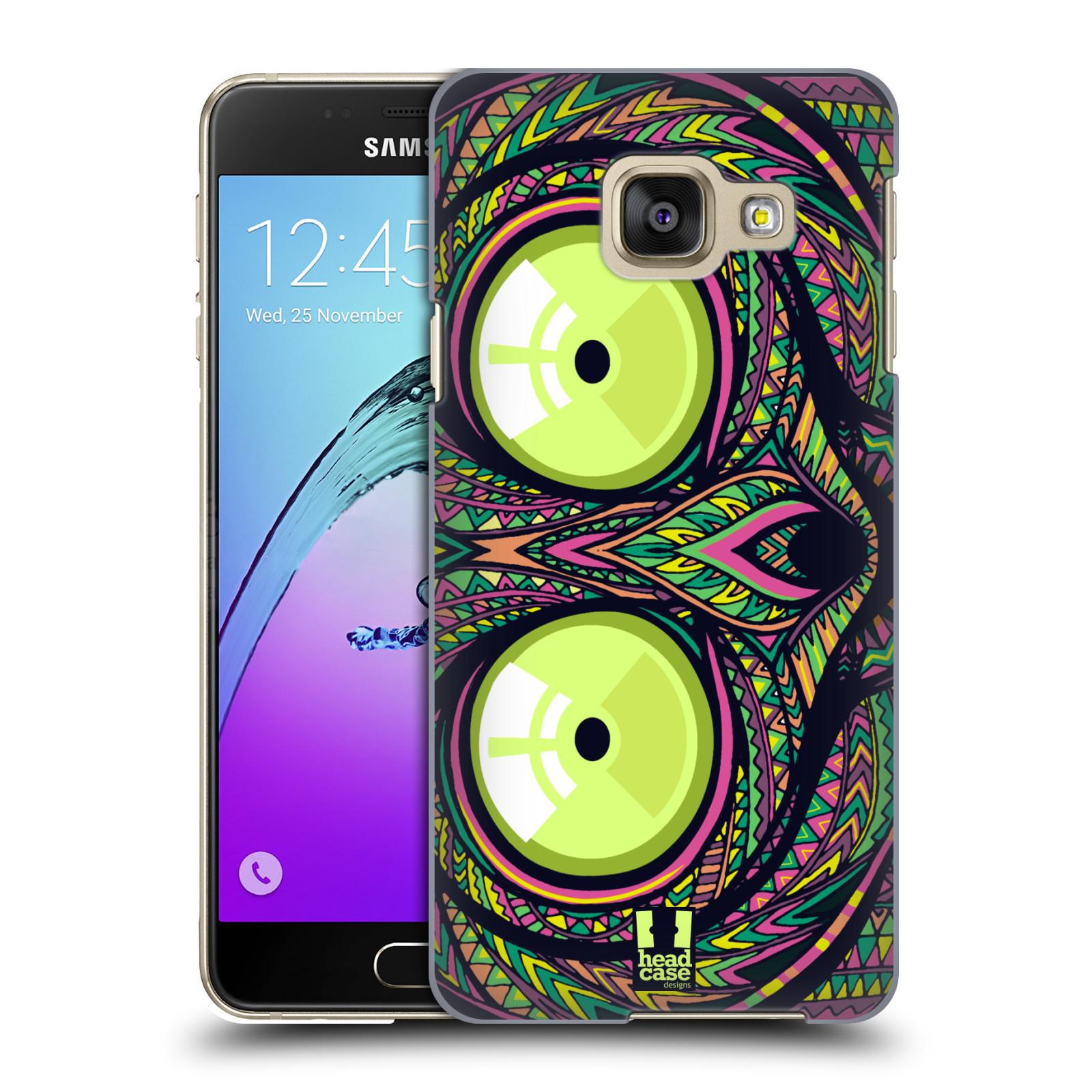 Plastové pouzdro na mobil Samsung Galaxy A3 (2016) HEAD CASE AZTEC NÁRTOUN