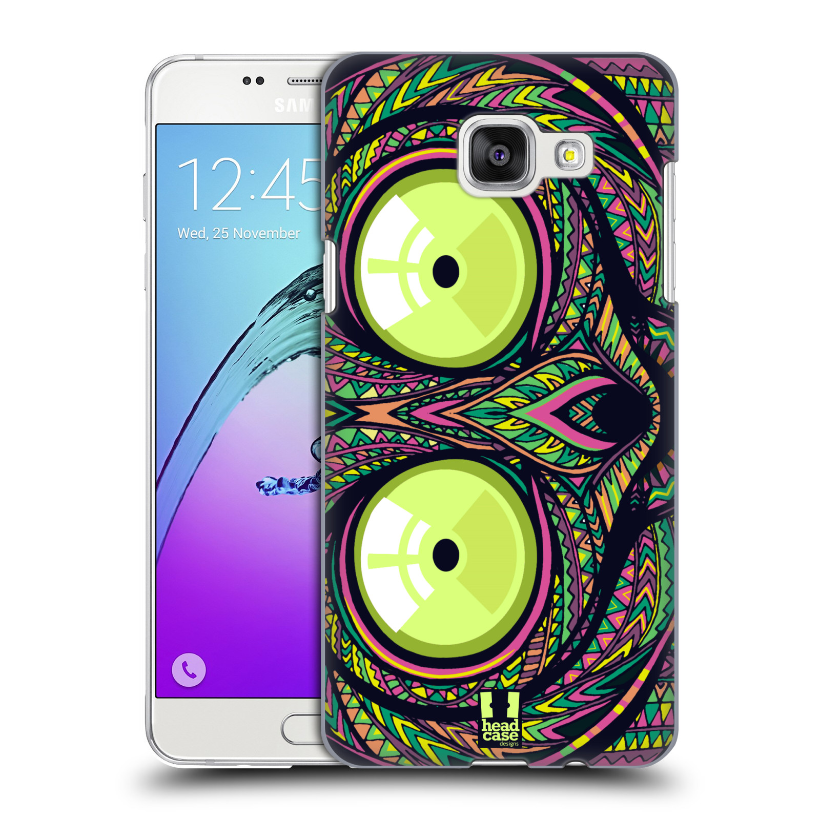 Plastové pouzdro na mobil Samsung Galaxy A5 (2016) HEAD CASE AZTEC NÁRTOUN