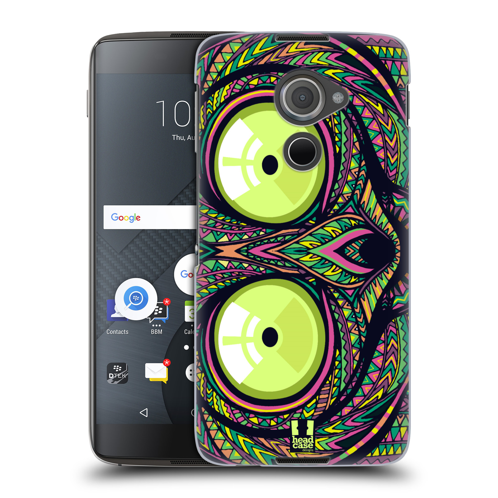 Plastové pouzdro na mobil Blackberry DTEK60 (Argon) - Head Case AZTEC NÁRTOUN