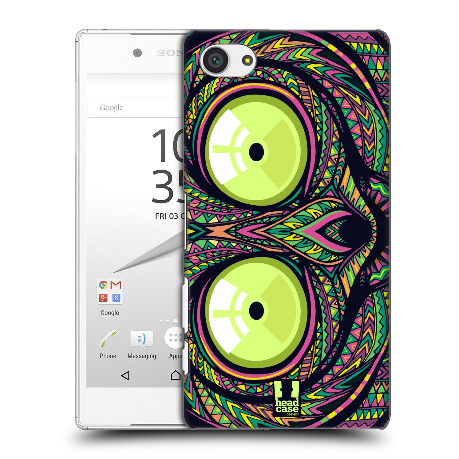 Plastové pouzdro na mobil Sony Xperia Z5 Compact HEAD CASE AZTEC NÁRTOUN
