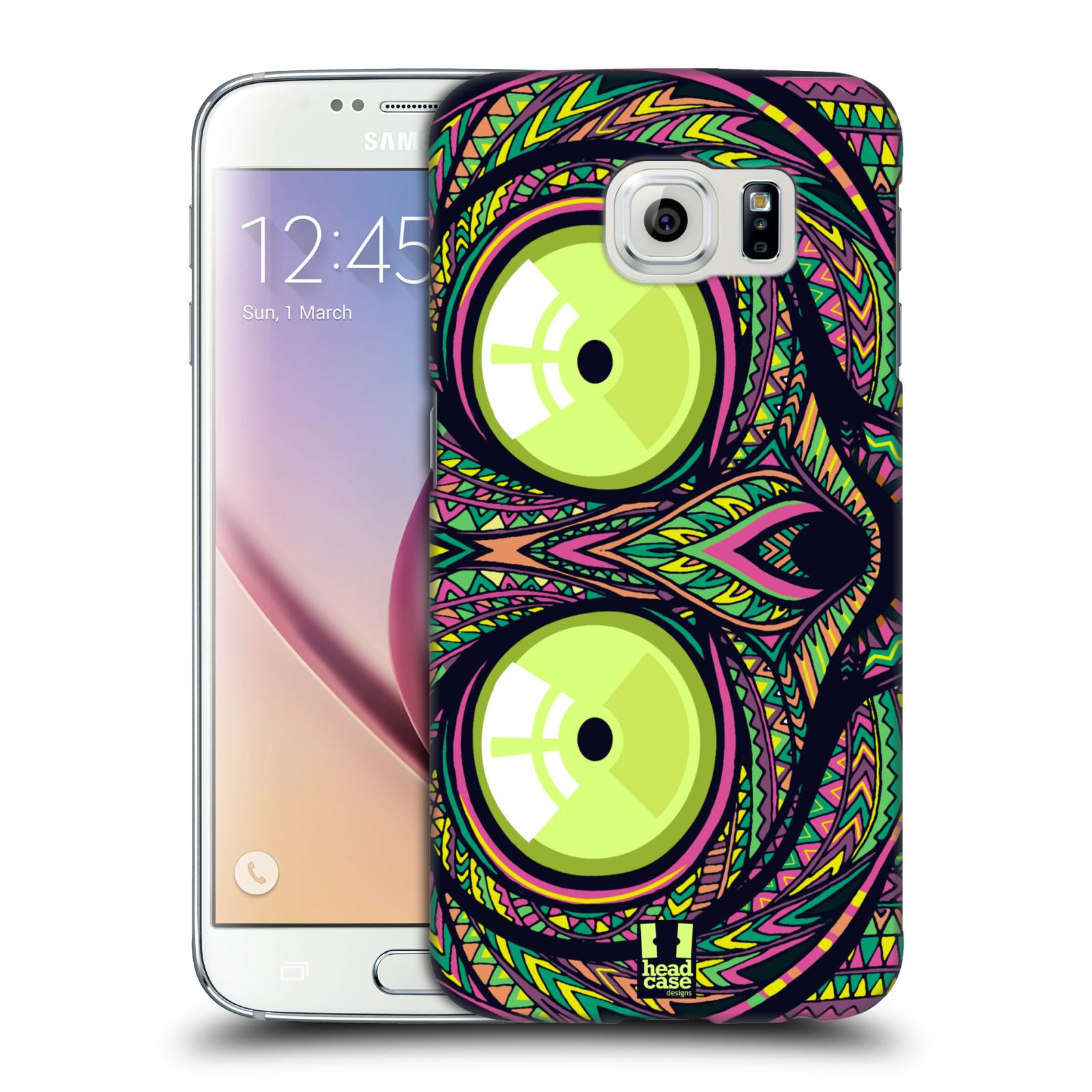 Plastové pouzdro na mobil Samsung Galaxy S6 HEAD CASE AZTEC NÁRTOUN