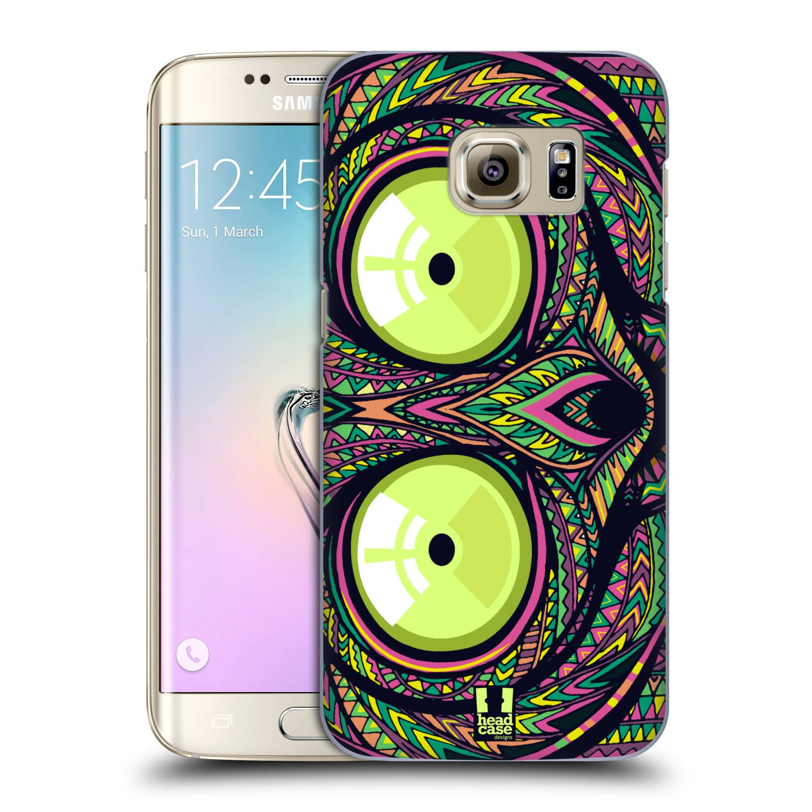 Plastové pouzdro na mobil Samsung Galaxy S7 Edge HEAD CASE AZTEC NÁRTOUN