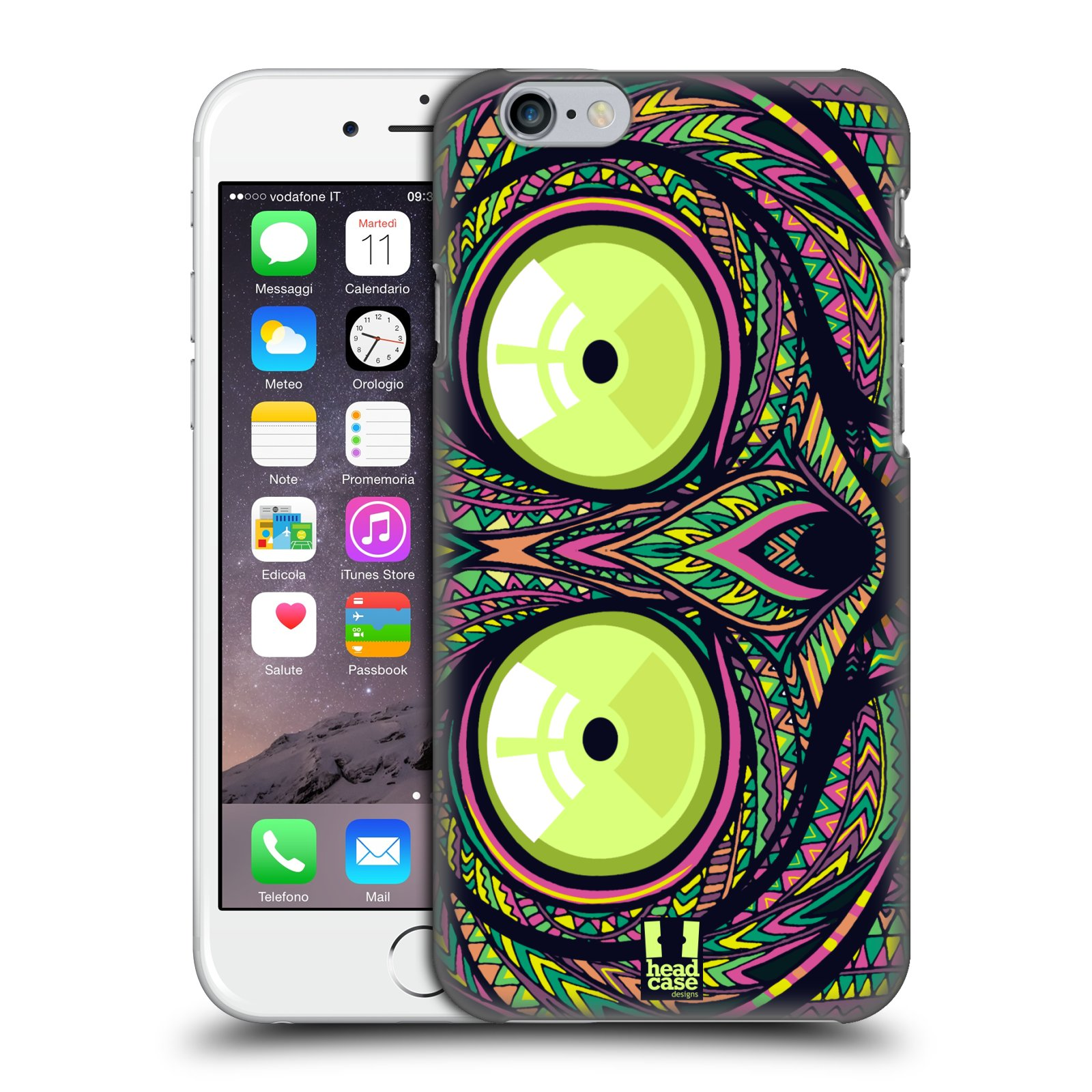 Plastové pouzdro na mobil Apple iPhone 6 a 6S HEAD CASE AZTEC NÁRTOUN