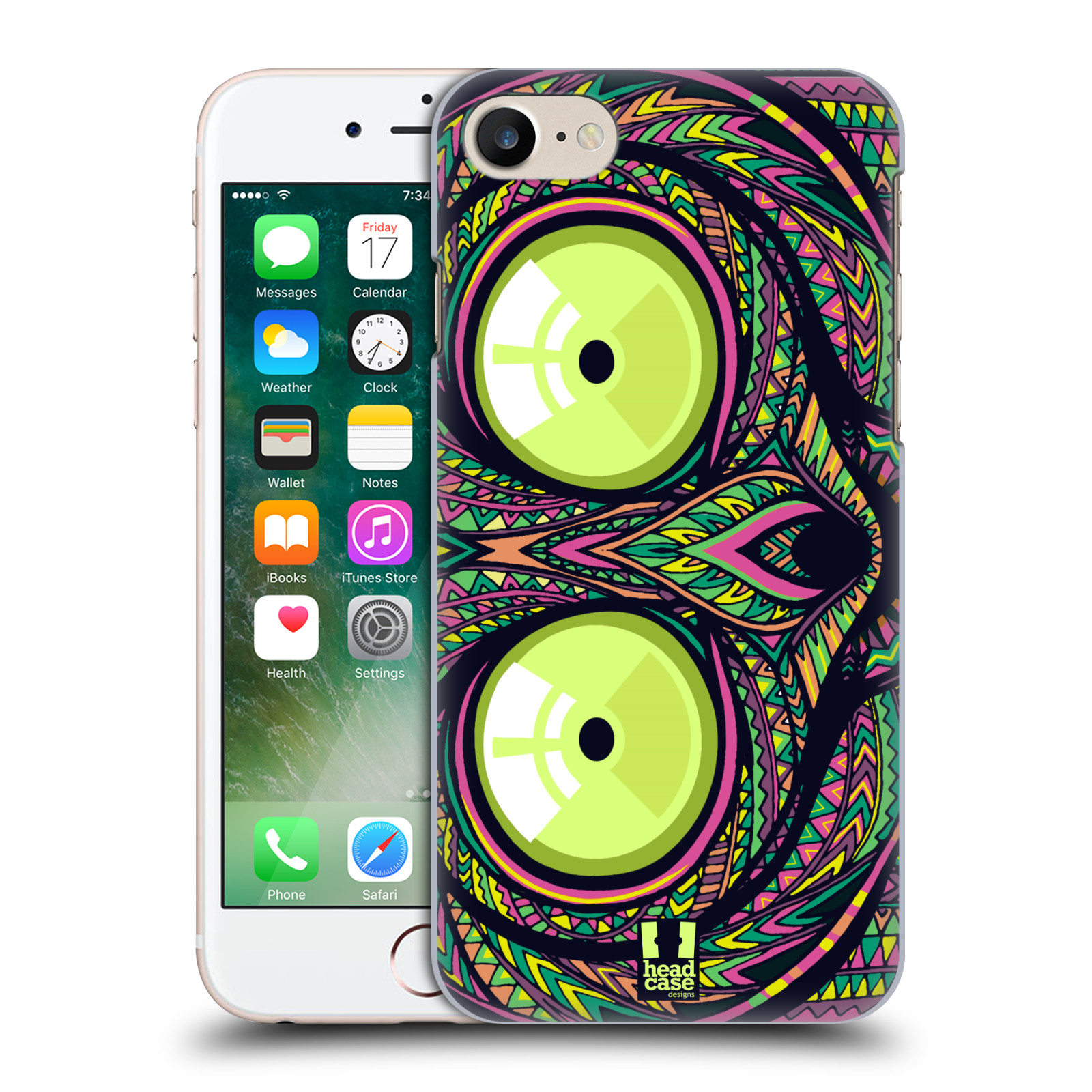Plastové pouzdro na mobil Apple iPhone 7 HEAD CASE AZTEC NÁRTOUN