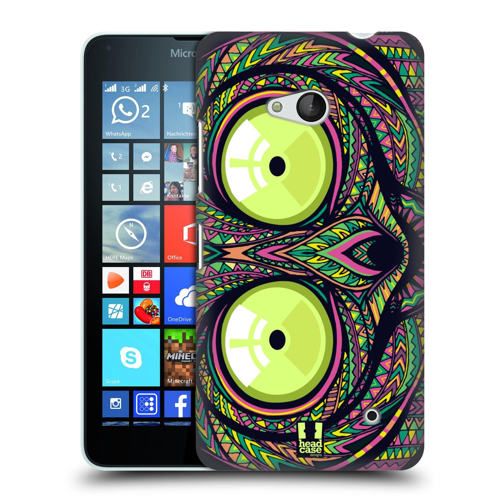 Plastové pouzdro na mobil Microsoft Lumia 640 HEAD CASE AZTEC NÁRTOUN