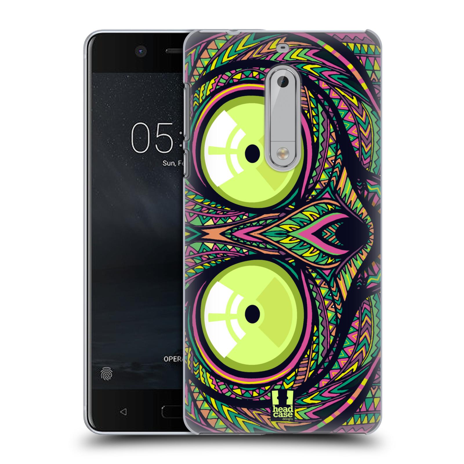 Plastové pouzdro na mobil Nokia 5 Head Case - AZTEC NÁRTOUN