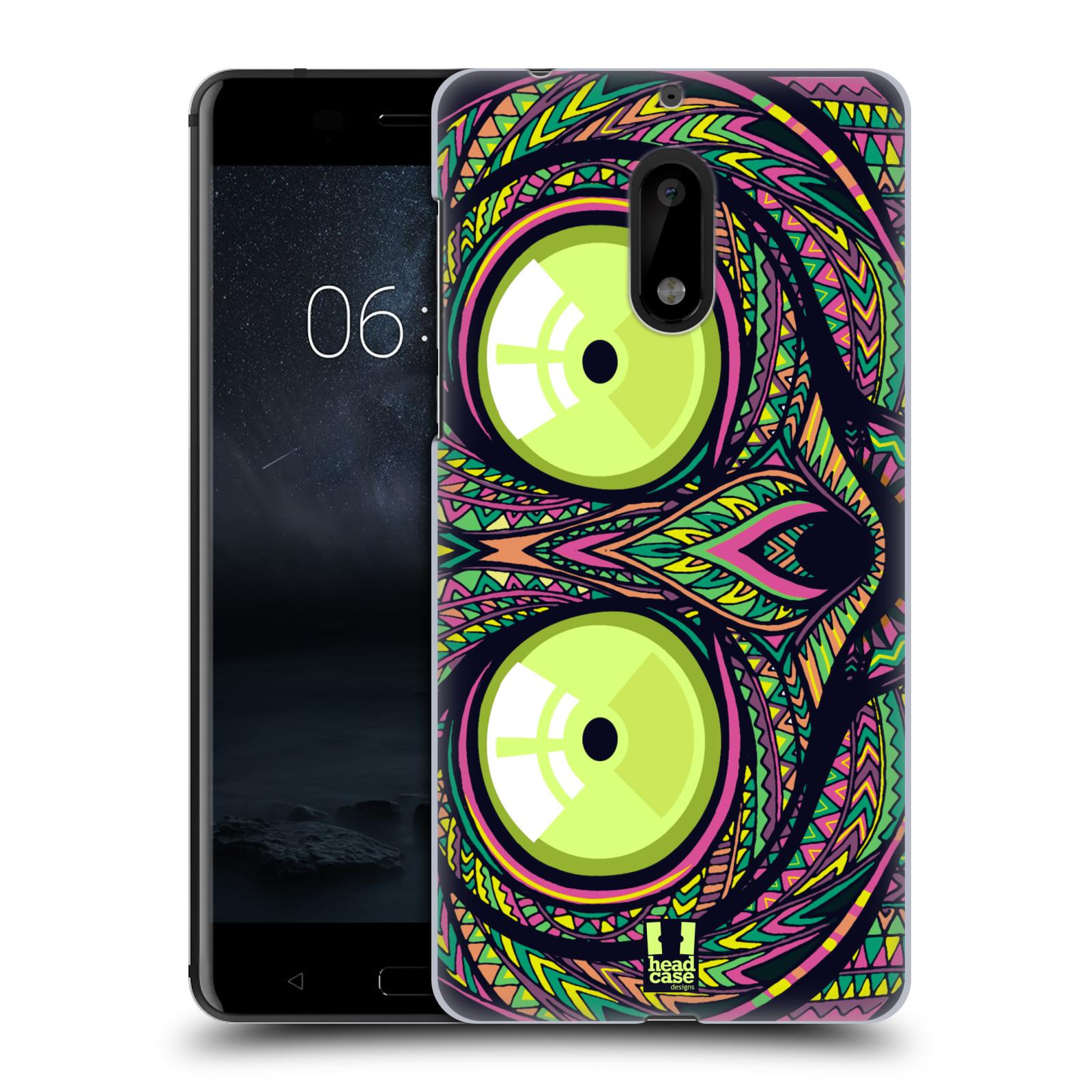 Plastové pouzdro na mobil Nokia 6 - Head Case AZTEC NÁRTOUN
